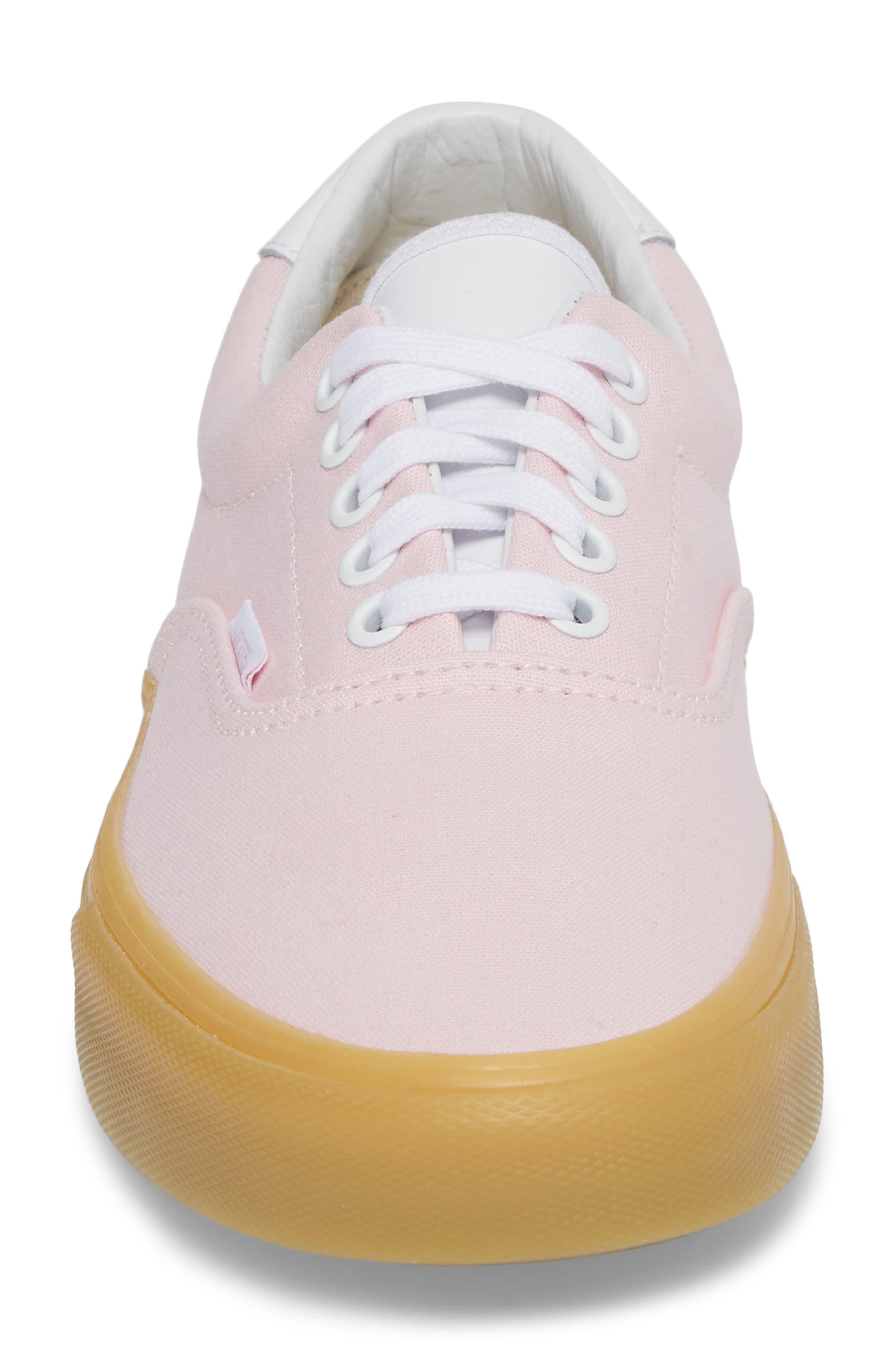 Era 59 Gum Sneaker,                             Alternate thumbnail 4, color,                             Chalk Pink