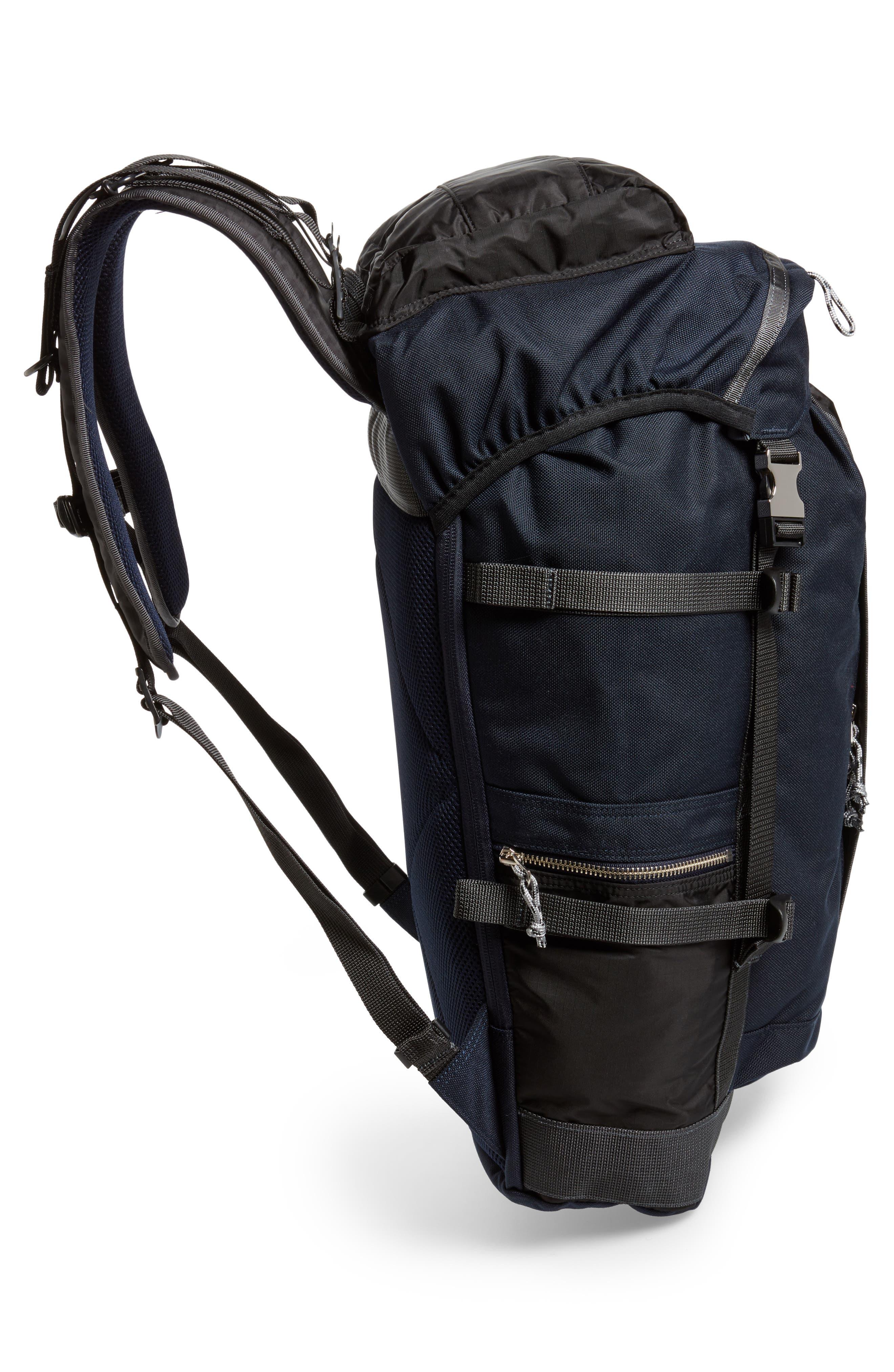 Porter-Yoshida & Co. Hype Backpack,                             Alternate thumbnail 5, color,                             Navy/ Black