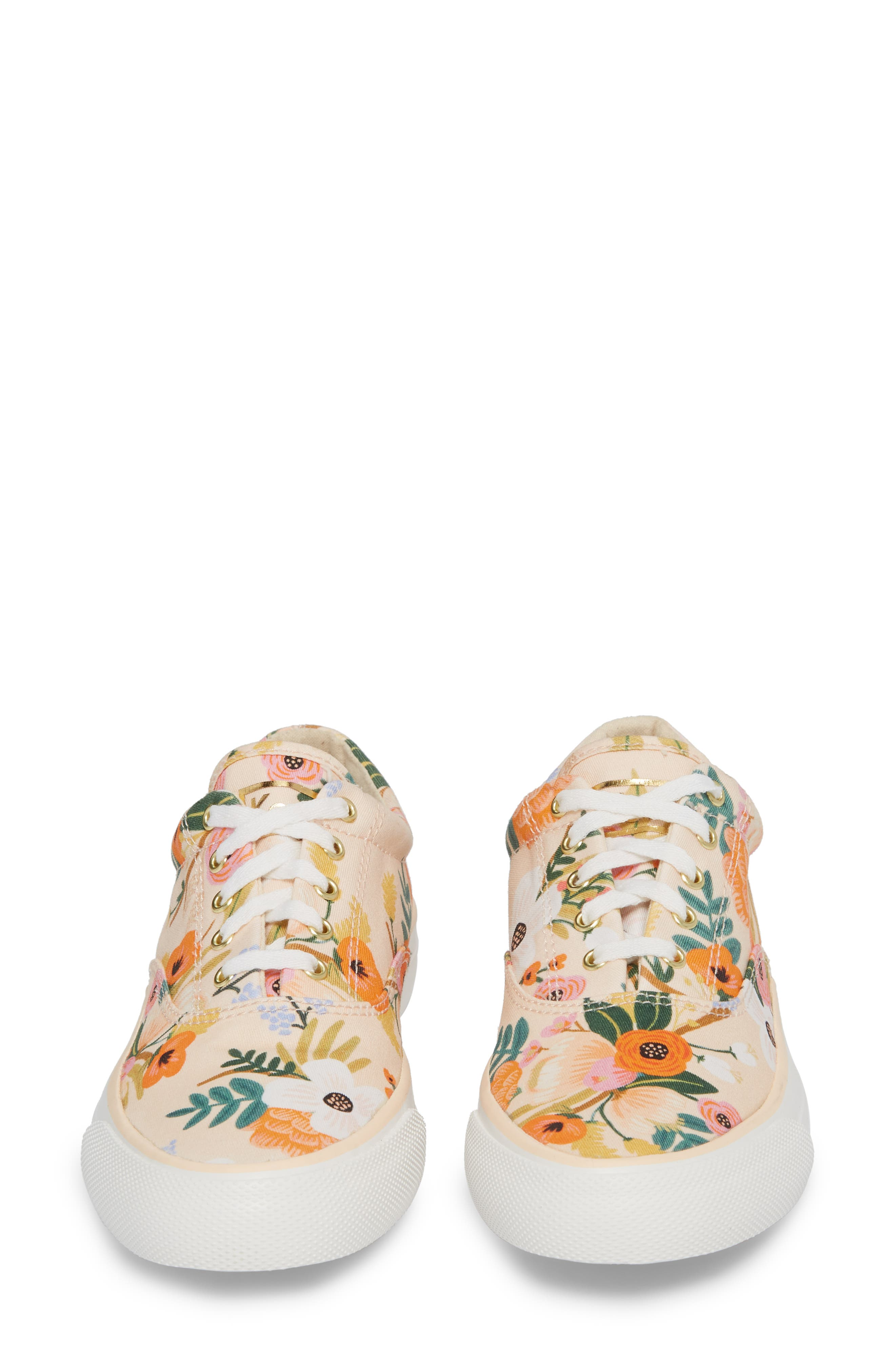 x Rifle Paper Co. Anchor Lively Floral Slip-On Sneaker,                             Alternate thumbnail 5, color,                             Pink