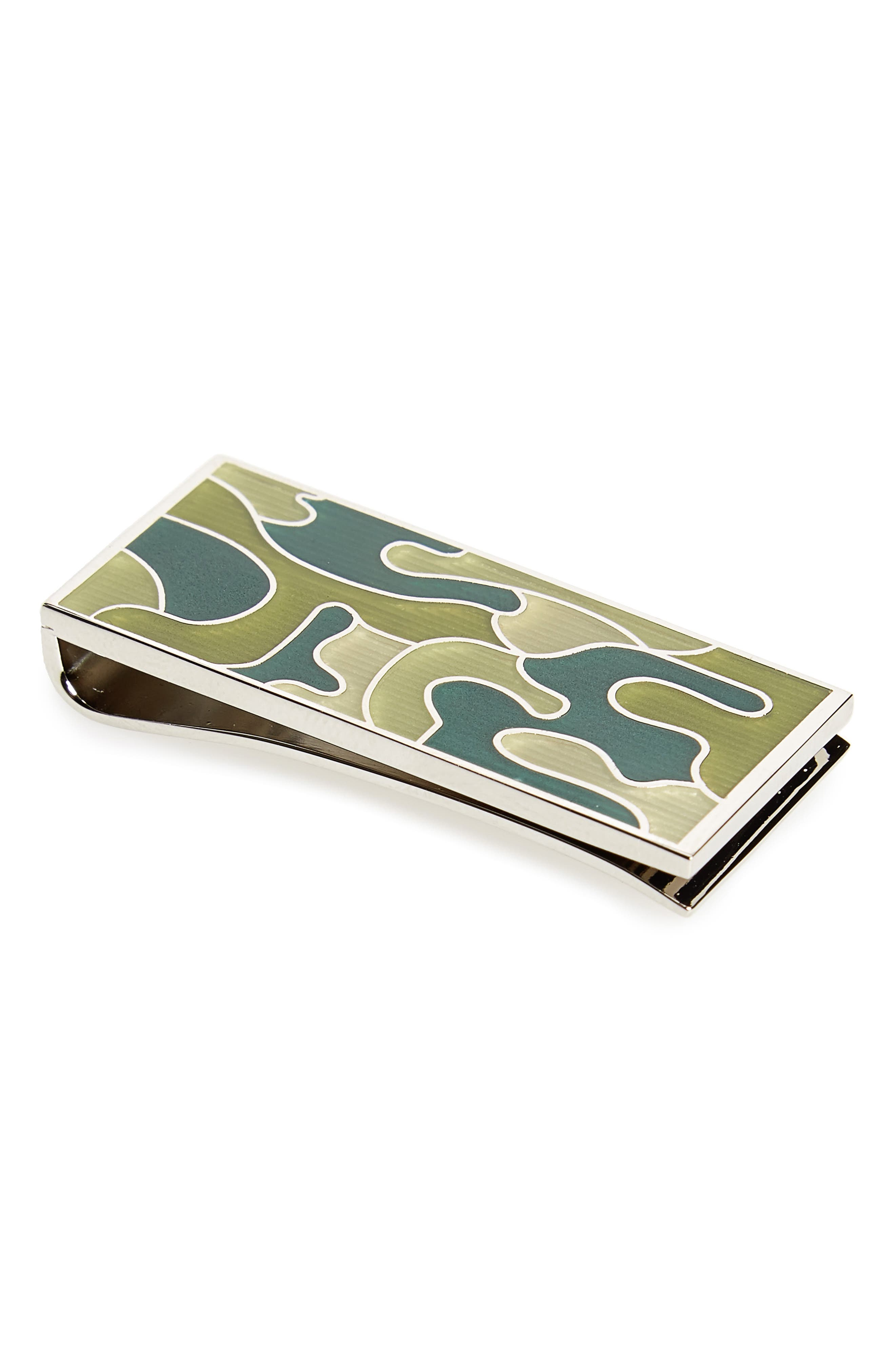 Paul Smith Camo Money Clip