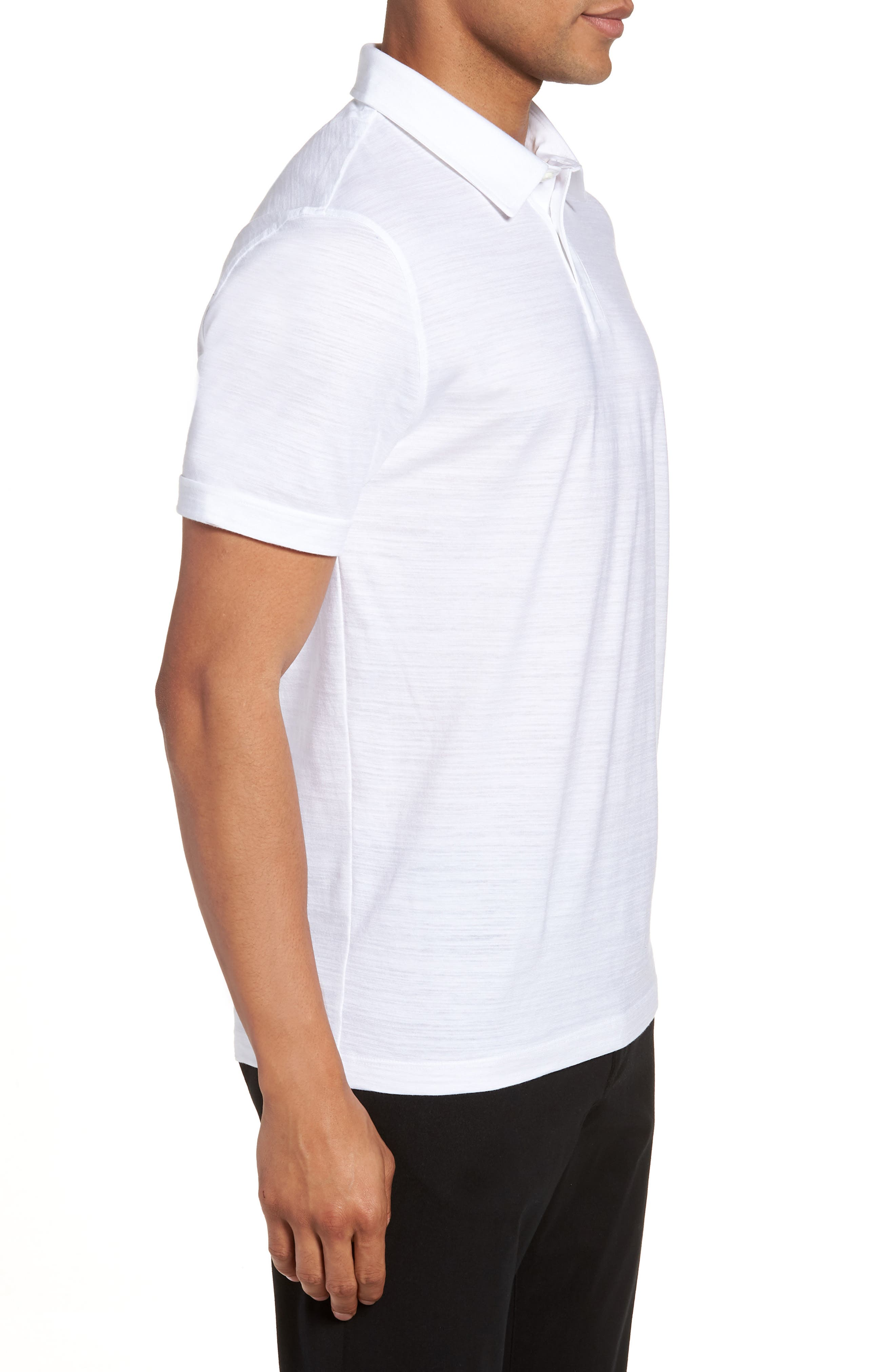 Alternate Image 3  - BOSS Press Flame Slim Fit Polo Shirt
