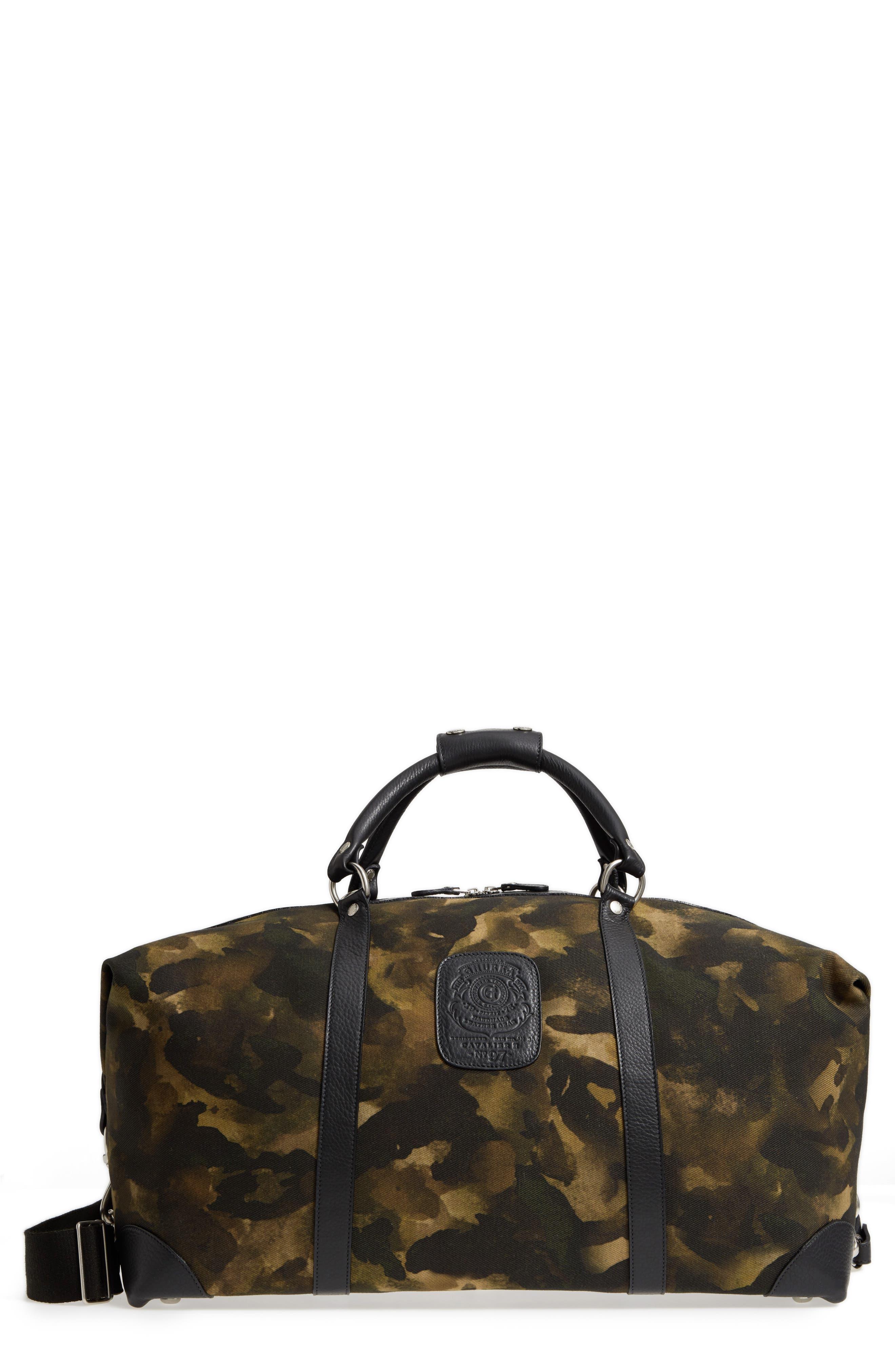 Cavalier II Canvas Duffel Bag,                         Main,                         color, Camo Solid