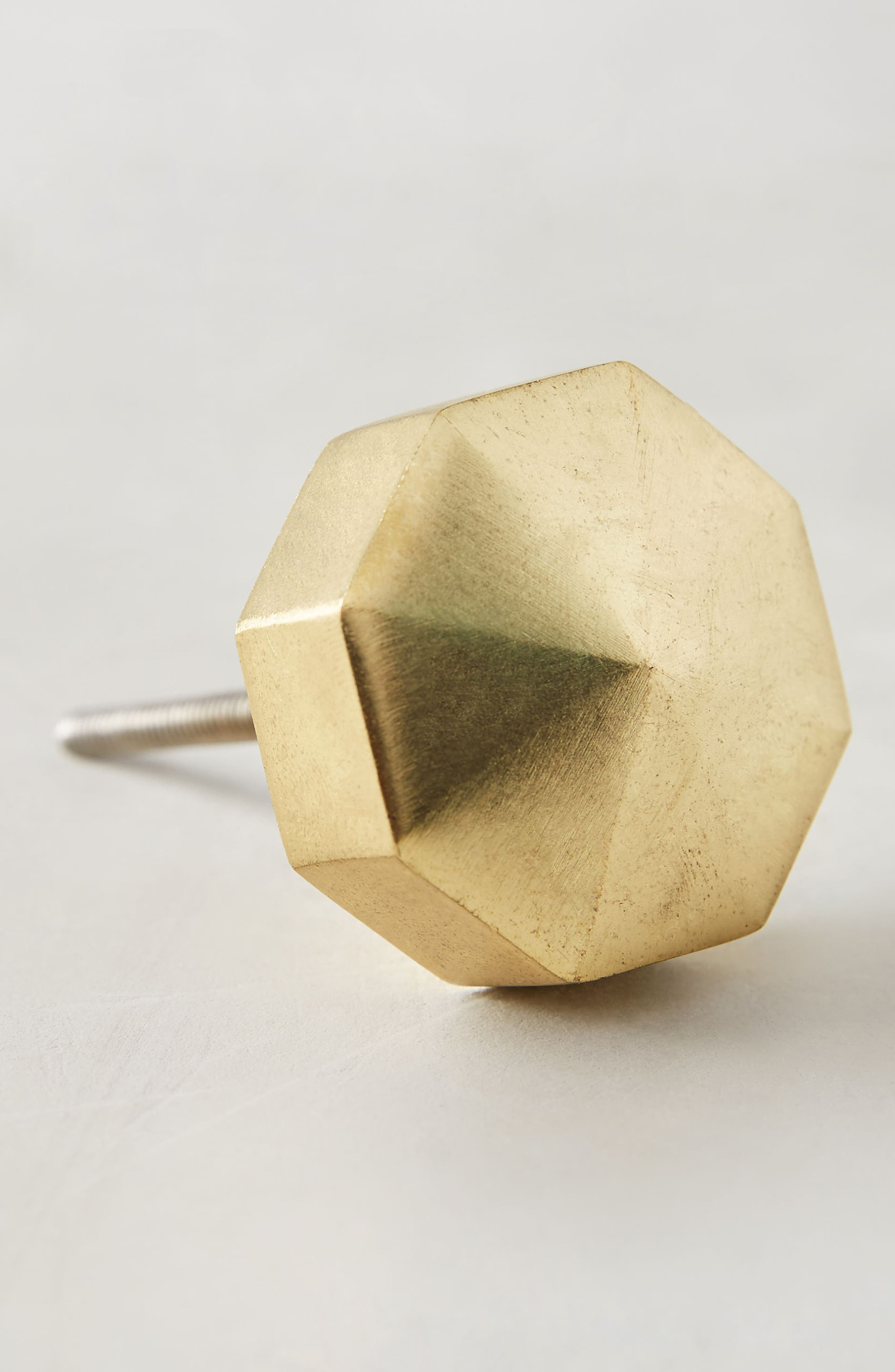 Faceted Ory Knob,                         Main,                         color, Bronze