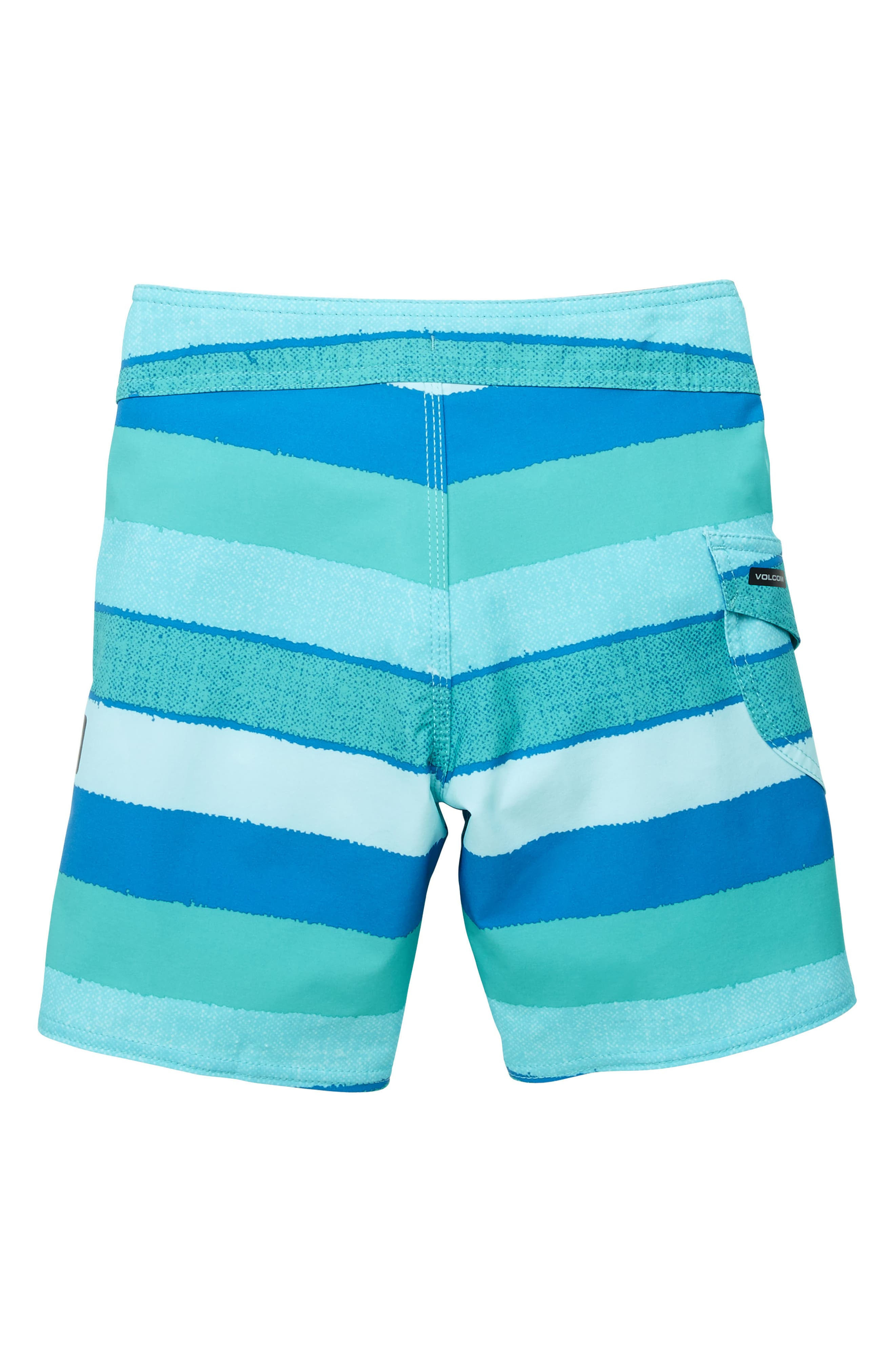 Magnetic Liney Mod Board Shorts,                             Alternate thumbnail 2, color,                             Turquoise