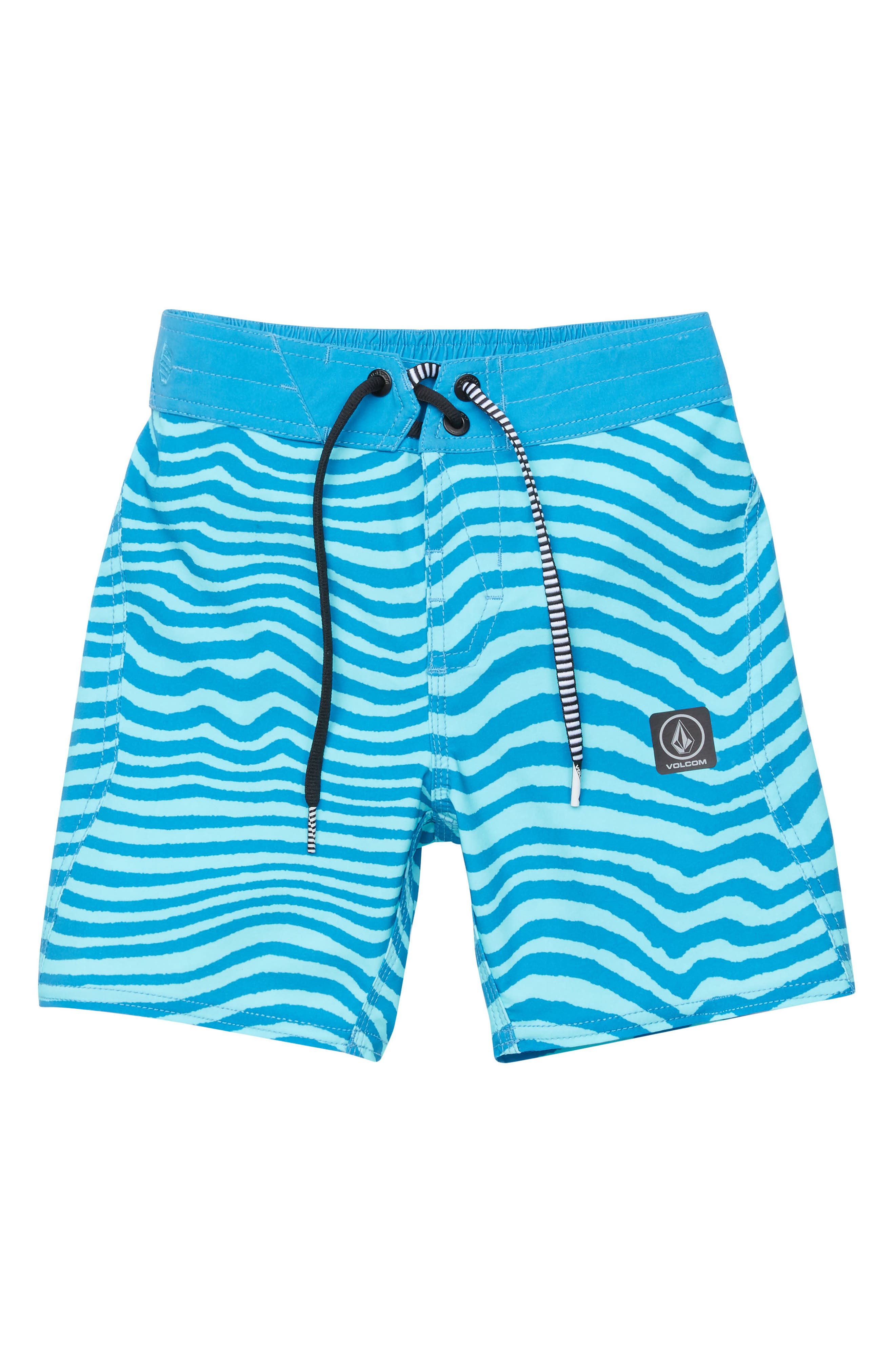 Mag Vibes Board Shorts,                         Main,                         color, Bright Turquoise