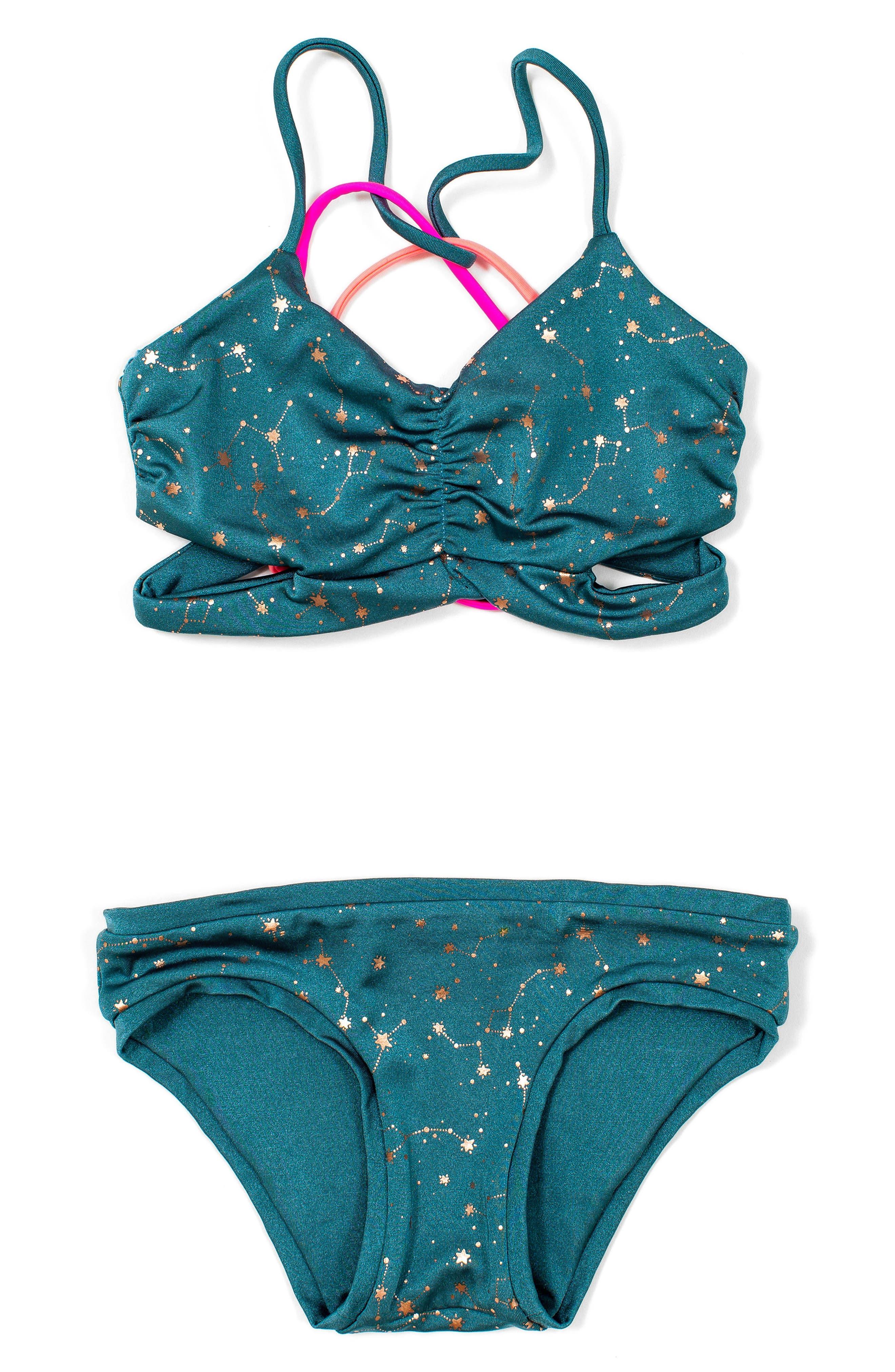 BOWIE X JAMES Clara Reversible Two-Piece Swimsuit (Toddler Girls, Little Girls & Big Girls)