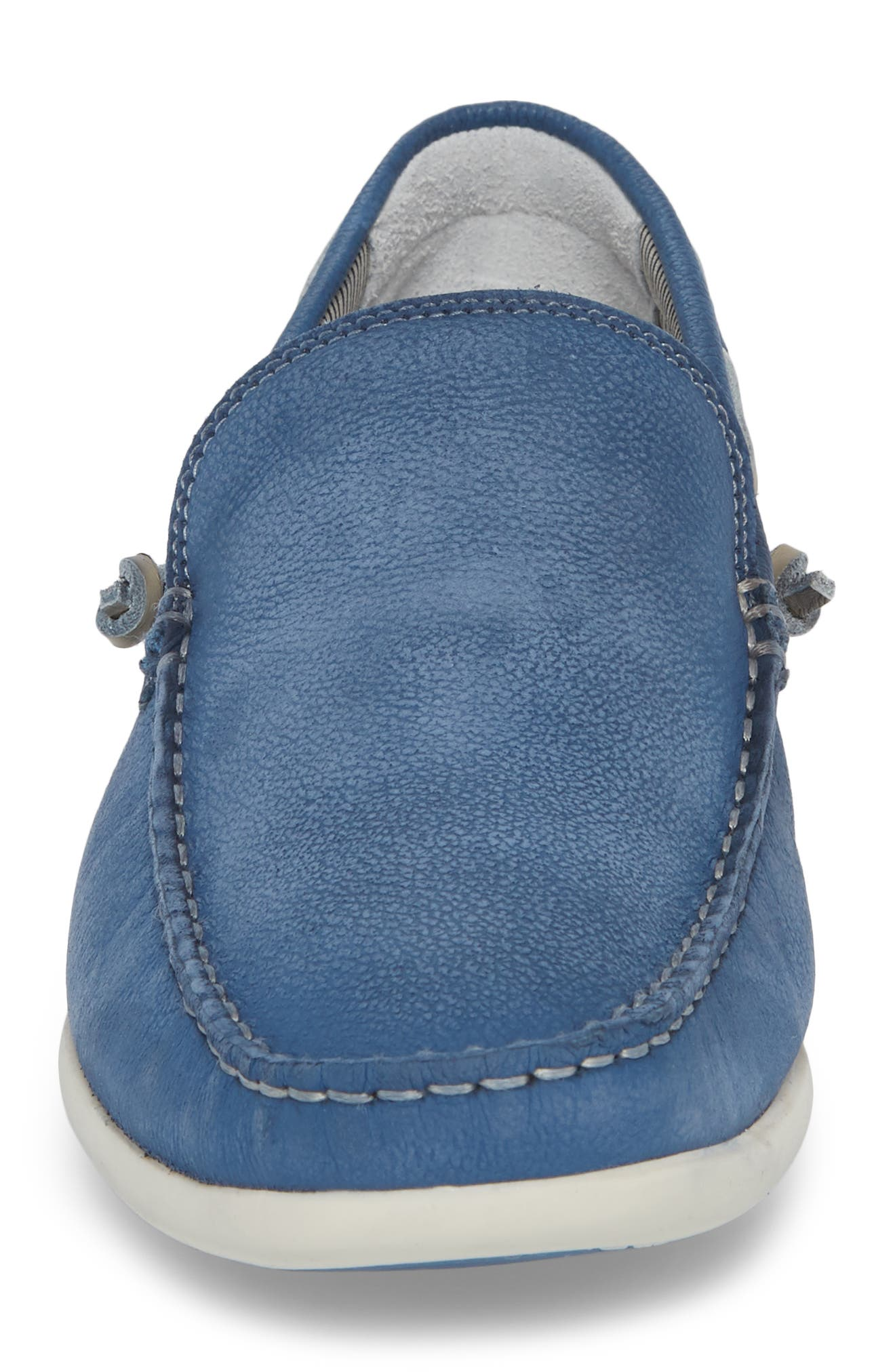 Sonoma Slip-On,                             Alternate thumbnail 4, color,                             Blue Leather