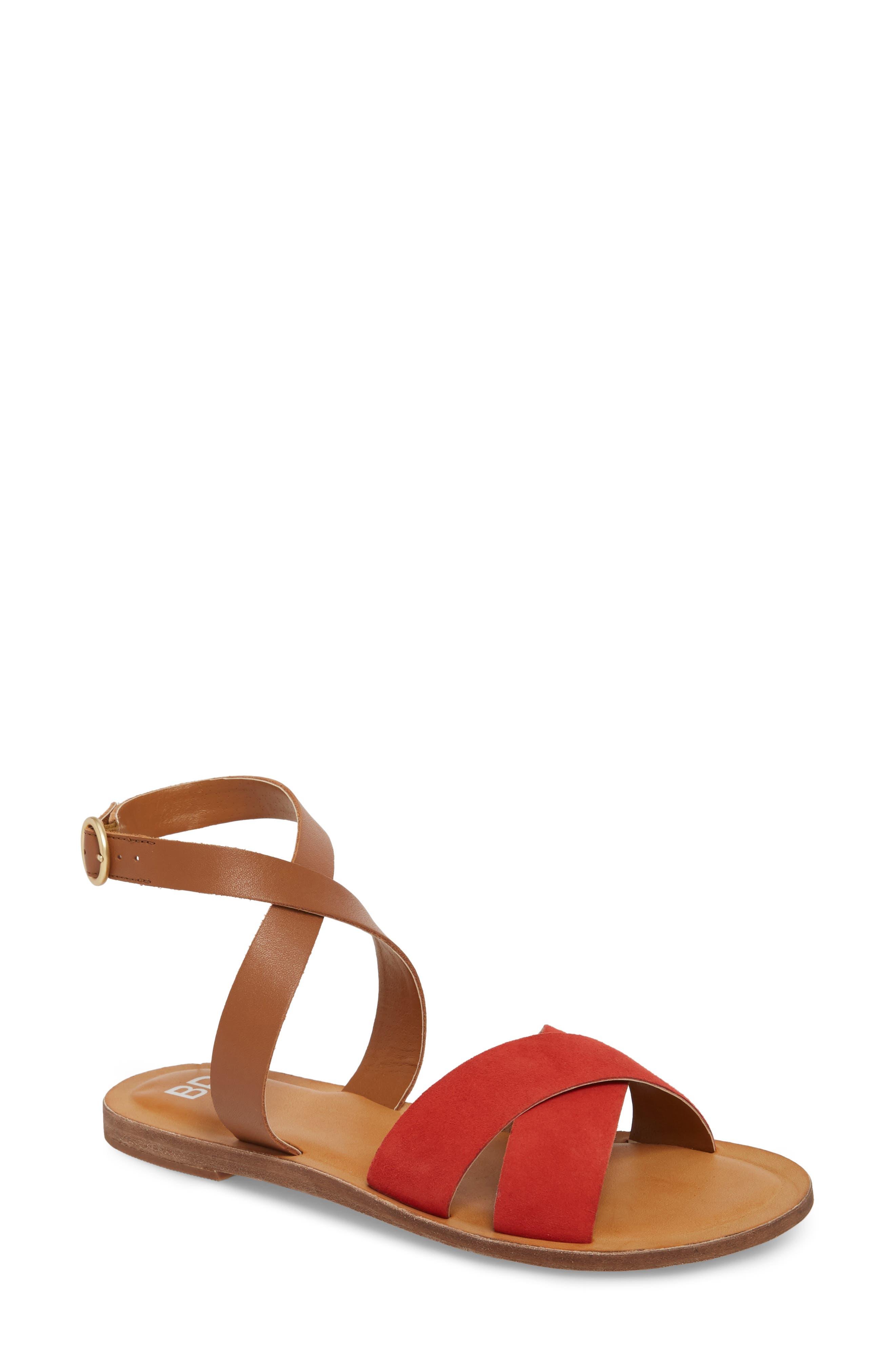 BP. Reed Strappy Flat Sandal (Women)