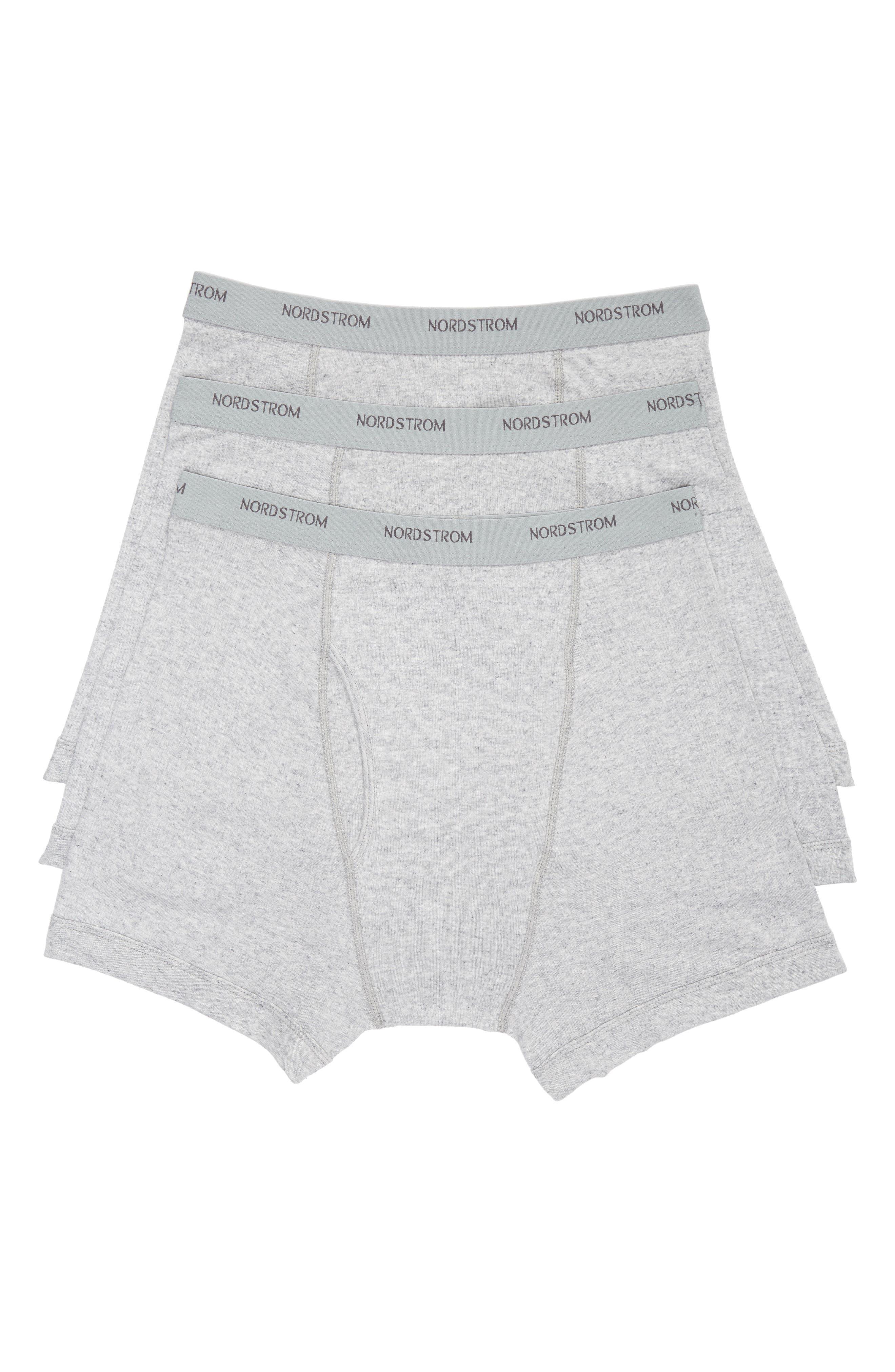 Nordstrom Men\u0027s Shop 3-Pack Supima� Cotton Boxer Briefs