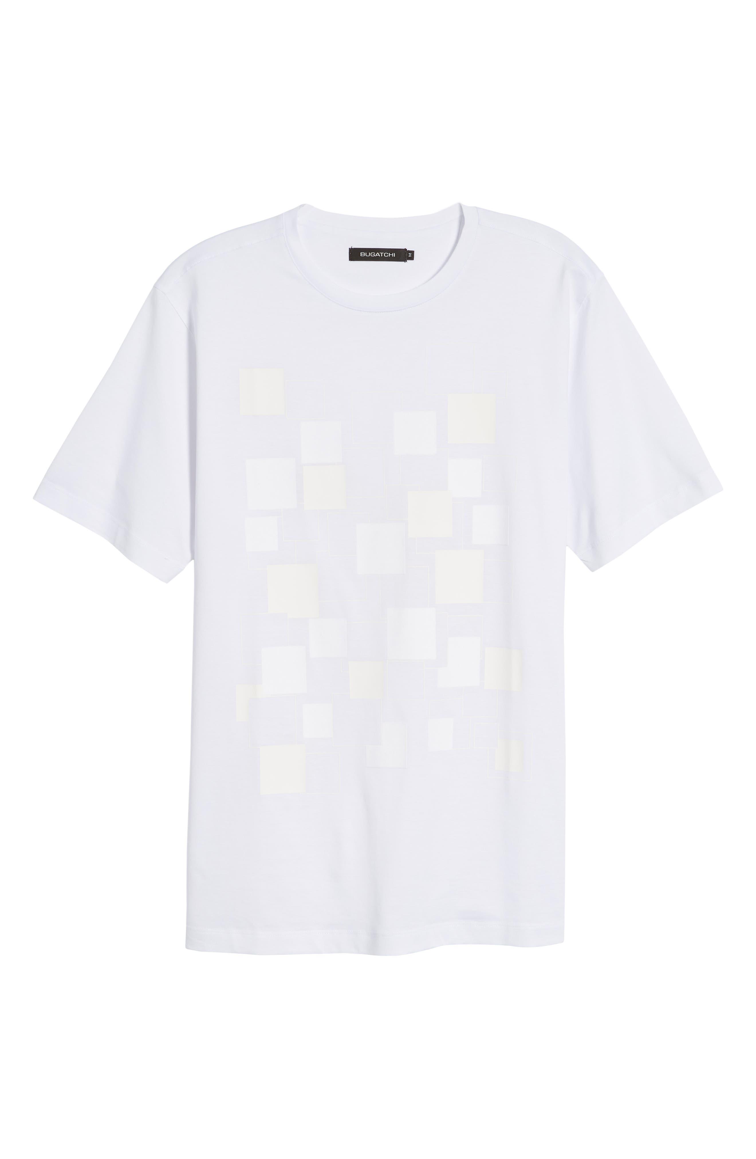 Crewneck T-Shirt,                             Alternate thumbnail 6, color,                             White