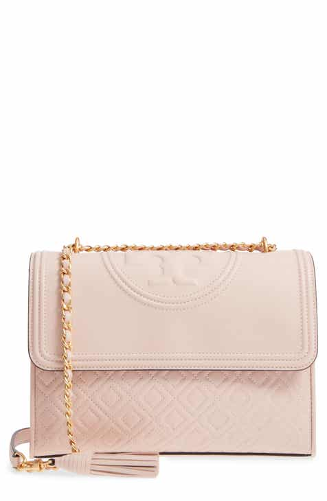 5dda71c2a0019 Tory Burch Fleming Leather Convertible Shoulder Bag