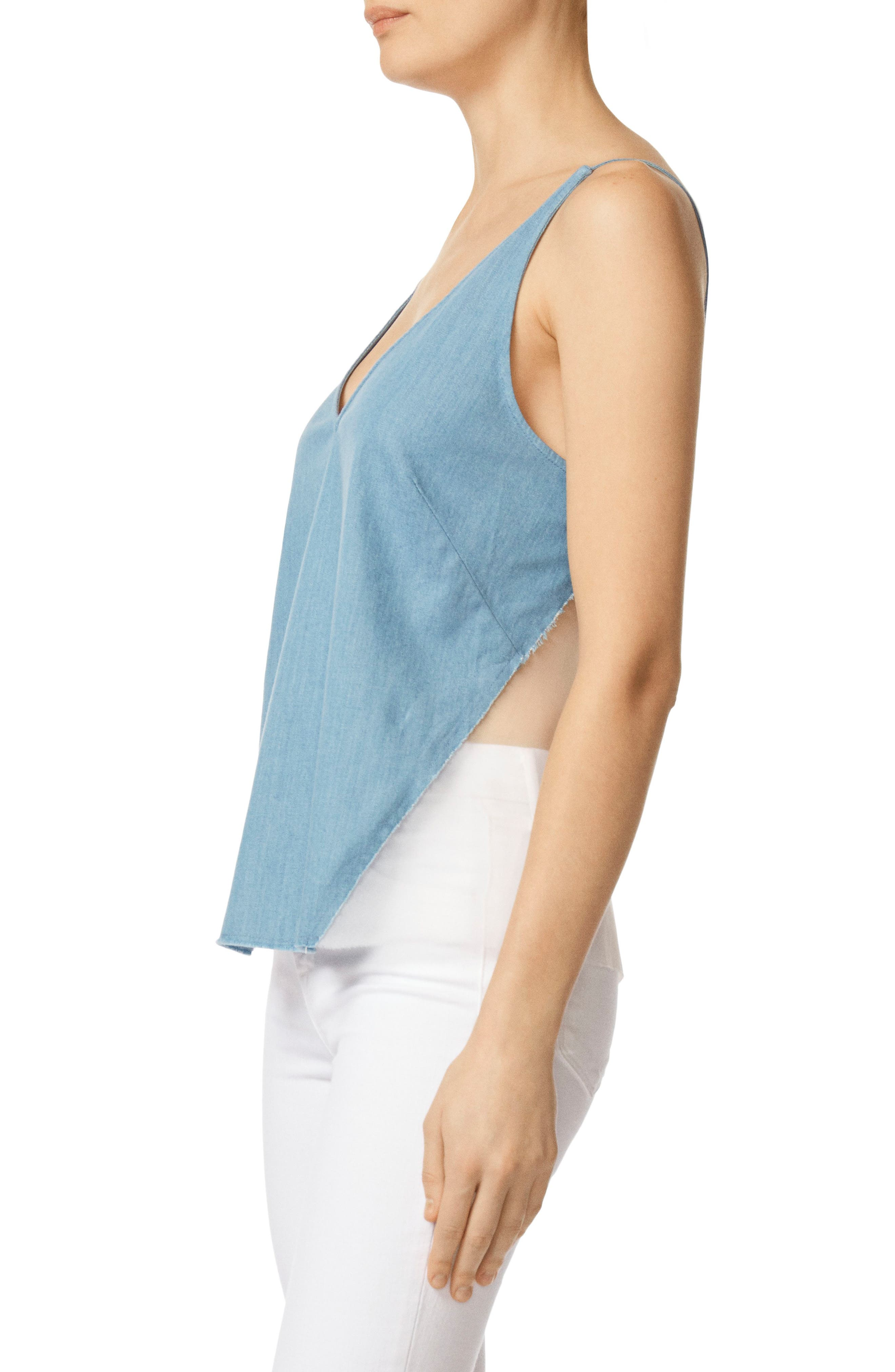 Lucy Illusion Back Camisole,                             Alternate thumbnail 3, color,                             Wishful