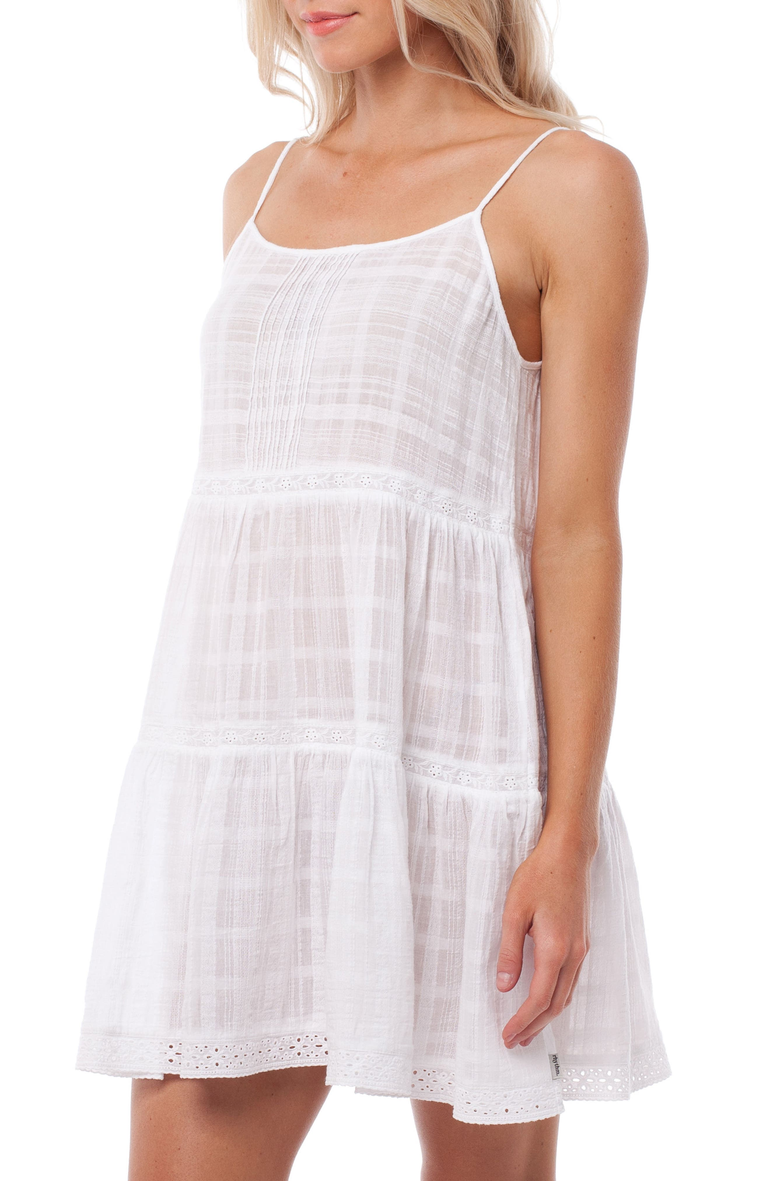 Capetown Cover-Up Dress,                             Alternate thumbnail 3, color,                             White