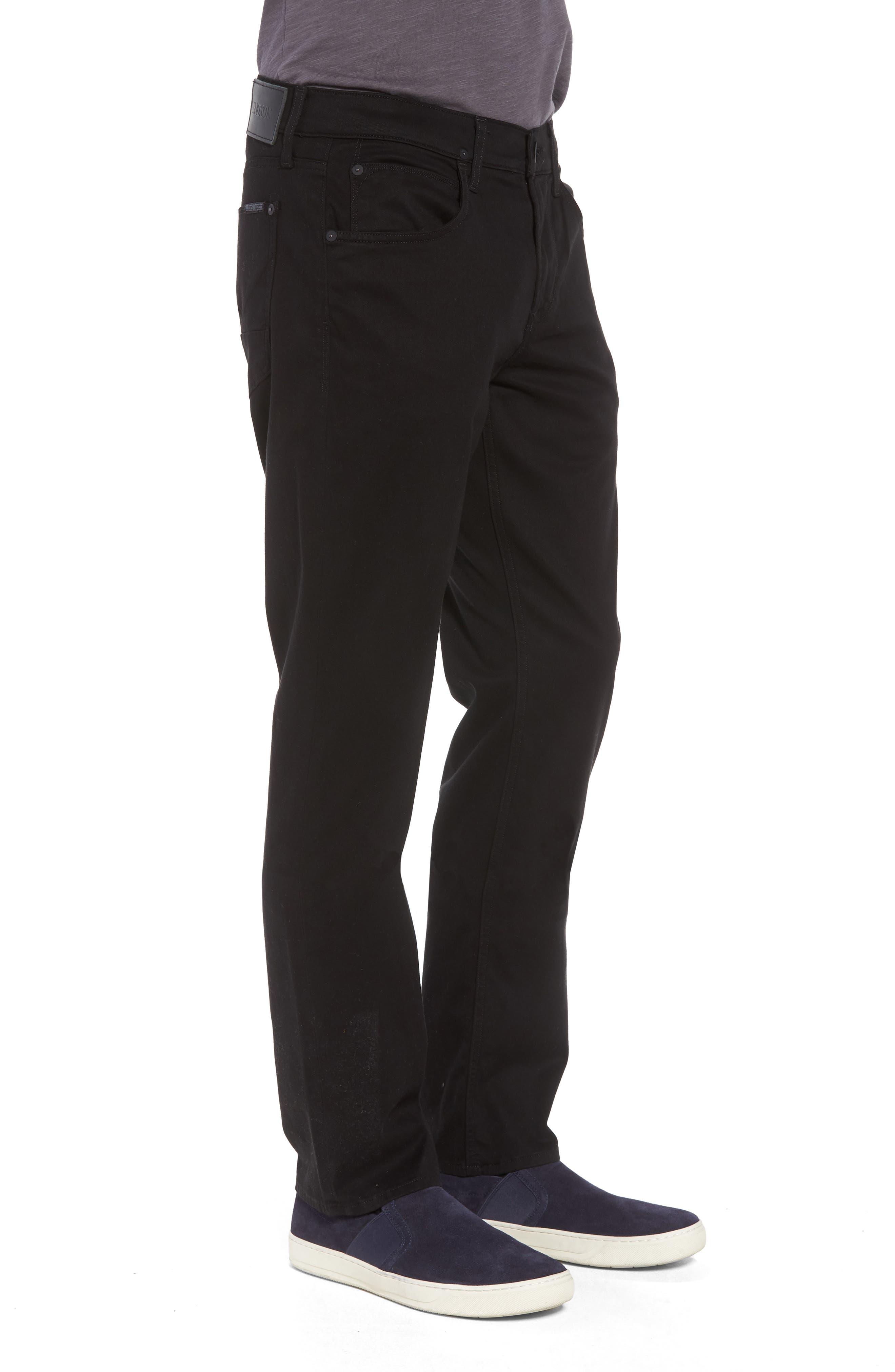 Byron Slim Straight Leg Jeans,                             Alternate thumbnail 3, color,                             Blackened