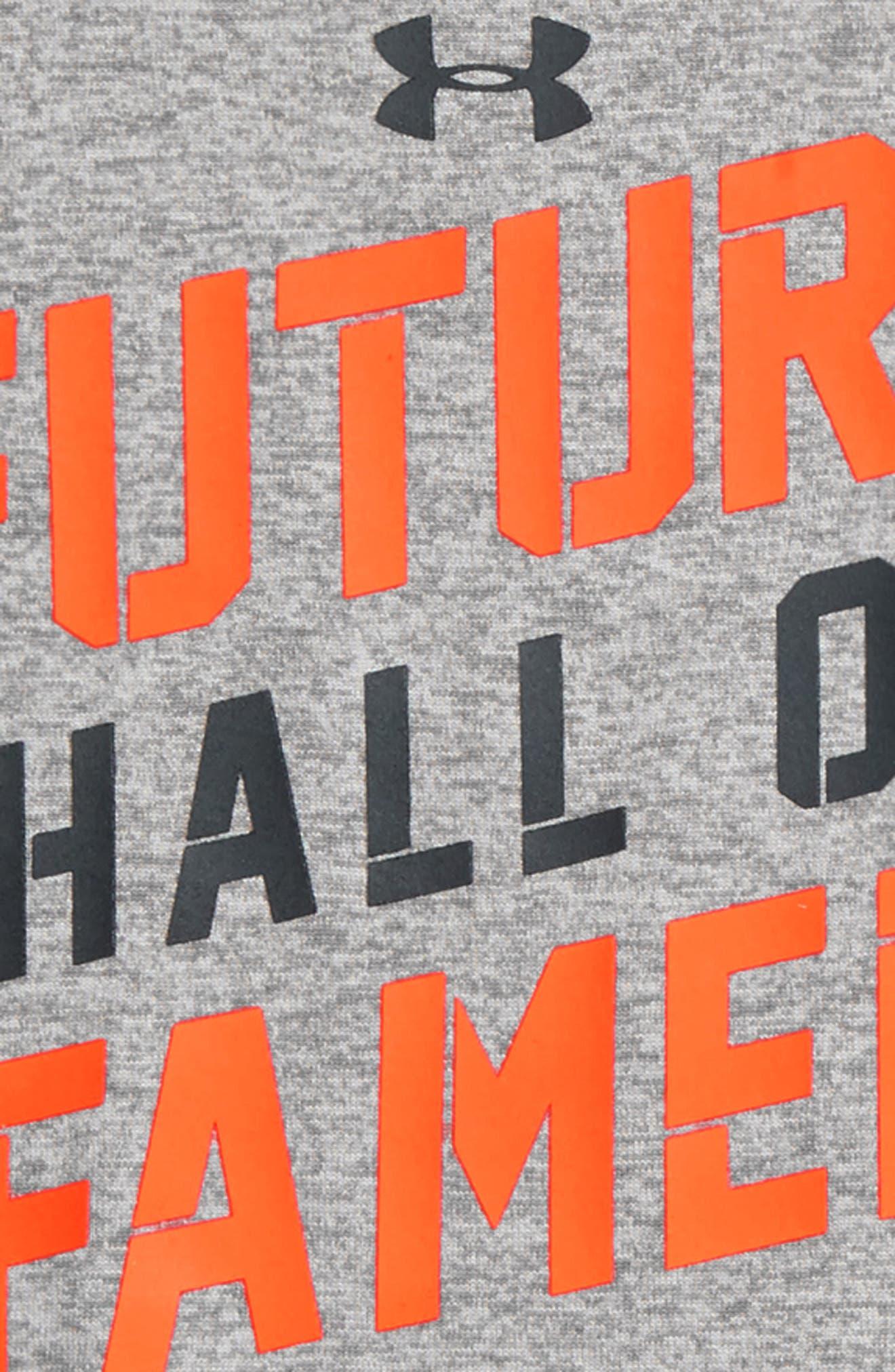 Future Hall of Famer Bodysuit & Mesh Shorts Set,                             Alternate thumbnail 2, color,                             True Grey Heather