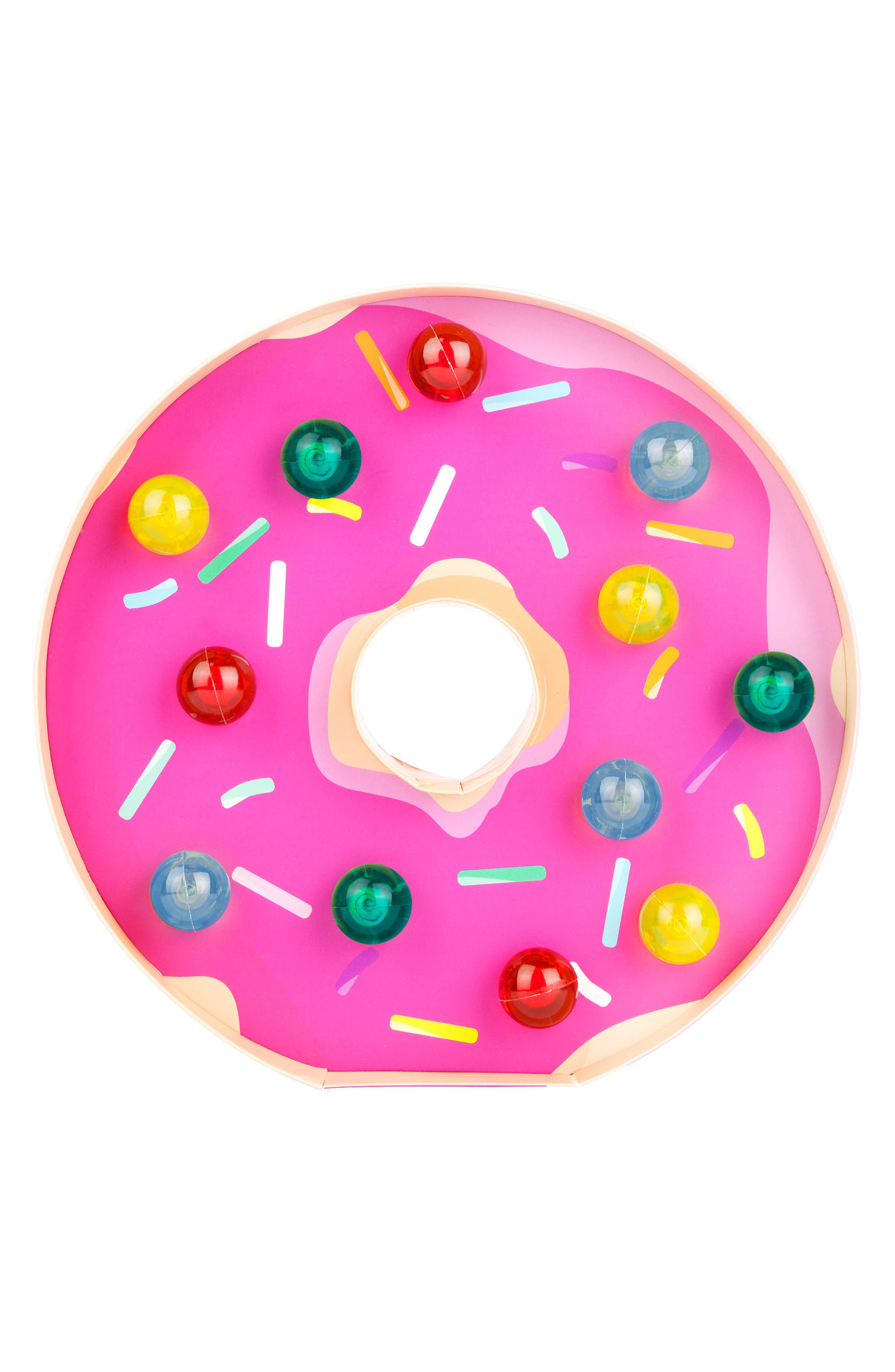 Donut Marquee Light,                         Main,                         color, Pink