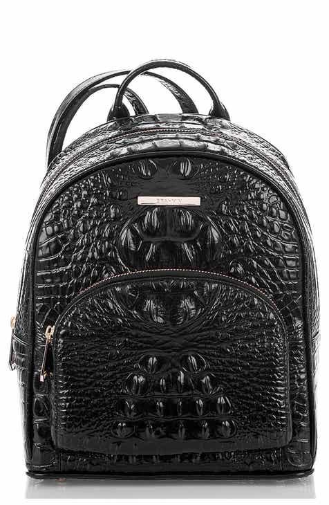 134486fa7efa6 Brahmin Mini Dartmouth Leather Backpack