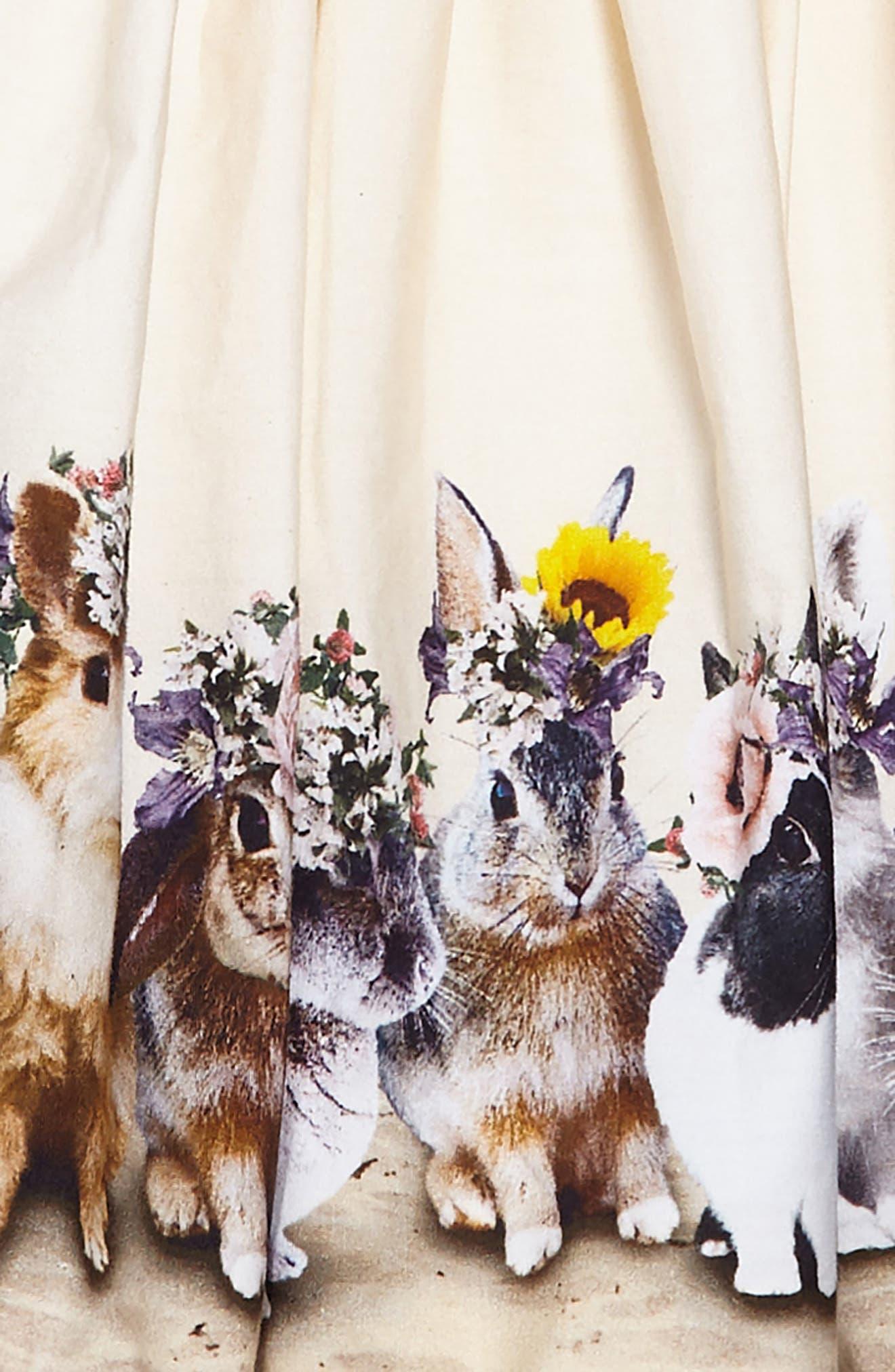 Alternate Image 3  - Molo Cassandra Bunny Tank Dress (Toddler Girls, Little Girls & Big Girls)