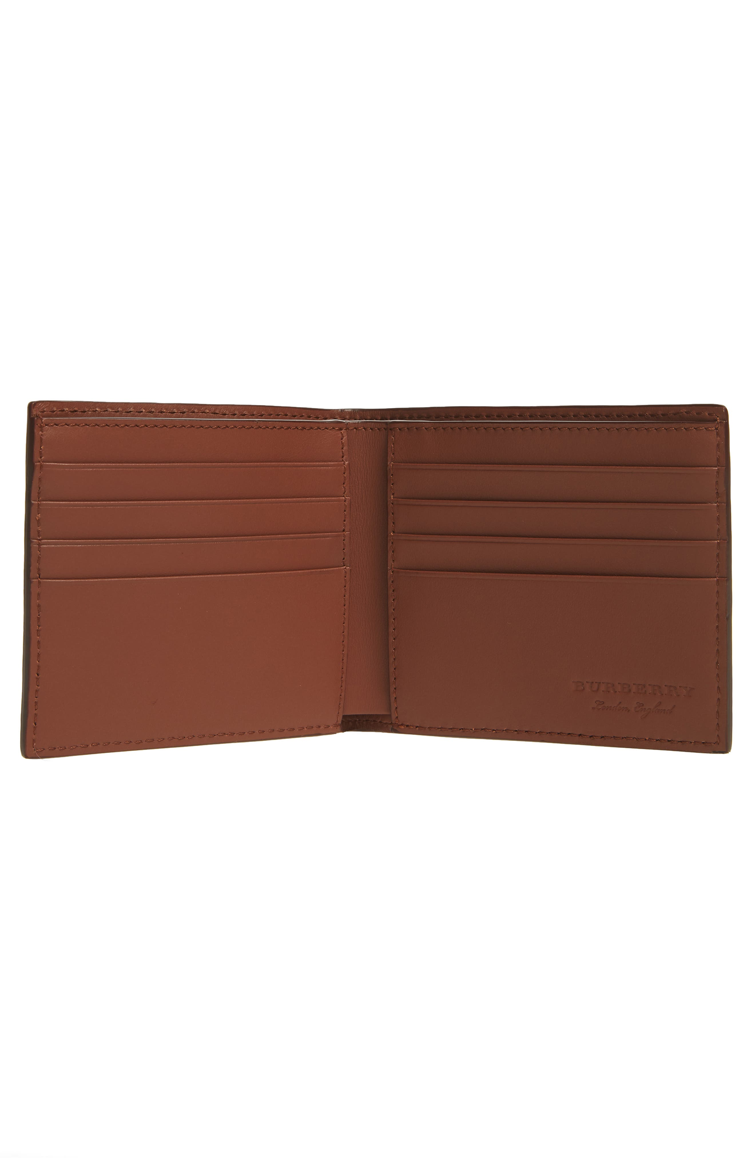 Billfold Wallet,                             Alternate thumbnail 2, color,                             Chestnut Brown