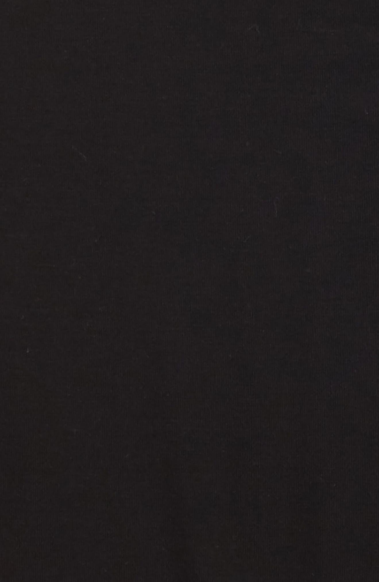 Side Peplum Tank,                             Alternate thumbnail 2, color,                             Black