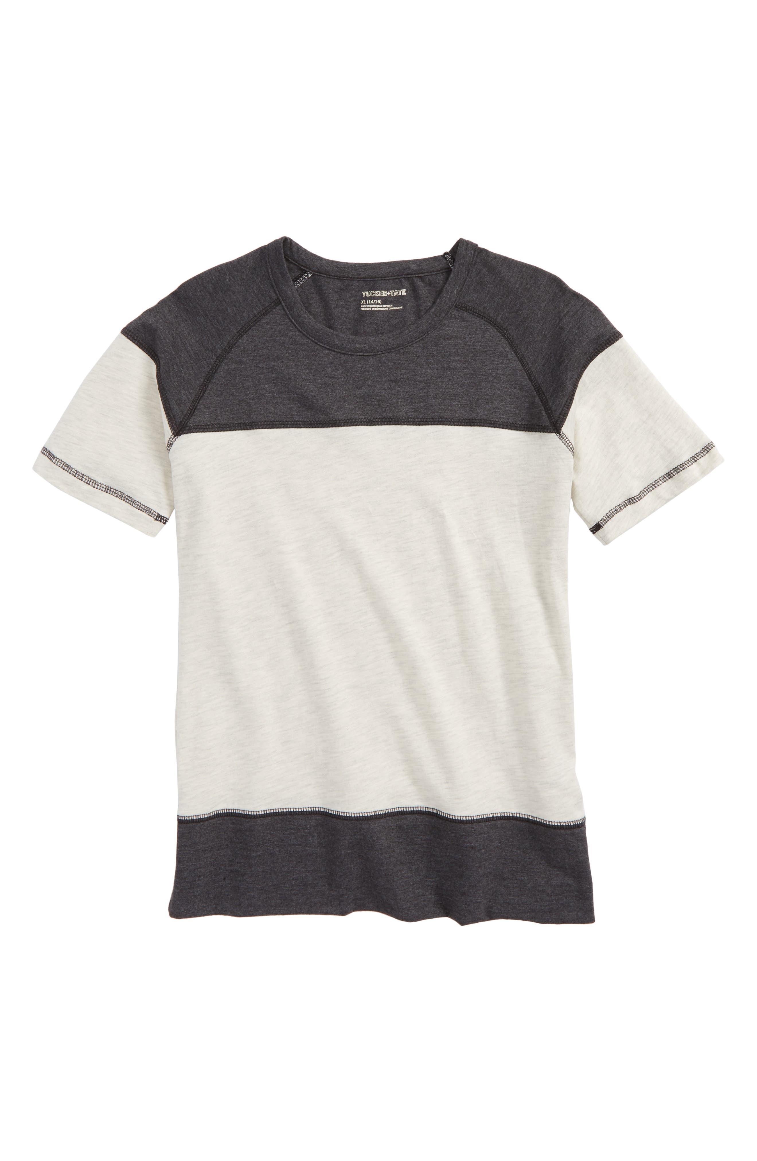Alternate Image 1 Selected - Tucker + Tate Colorblock T-Shirt (Big Boys)