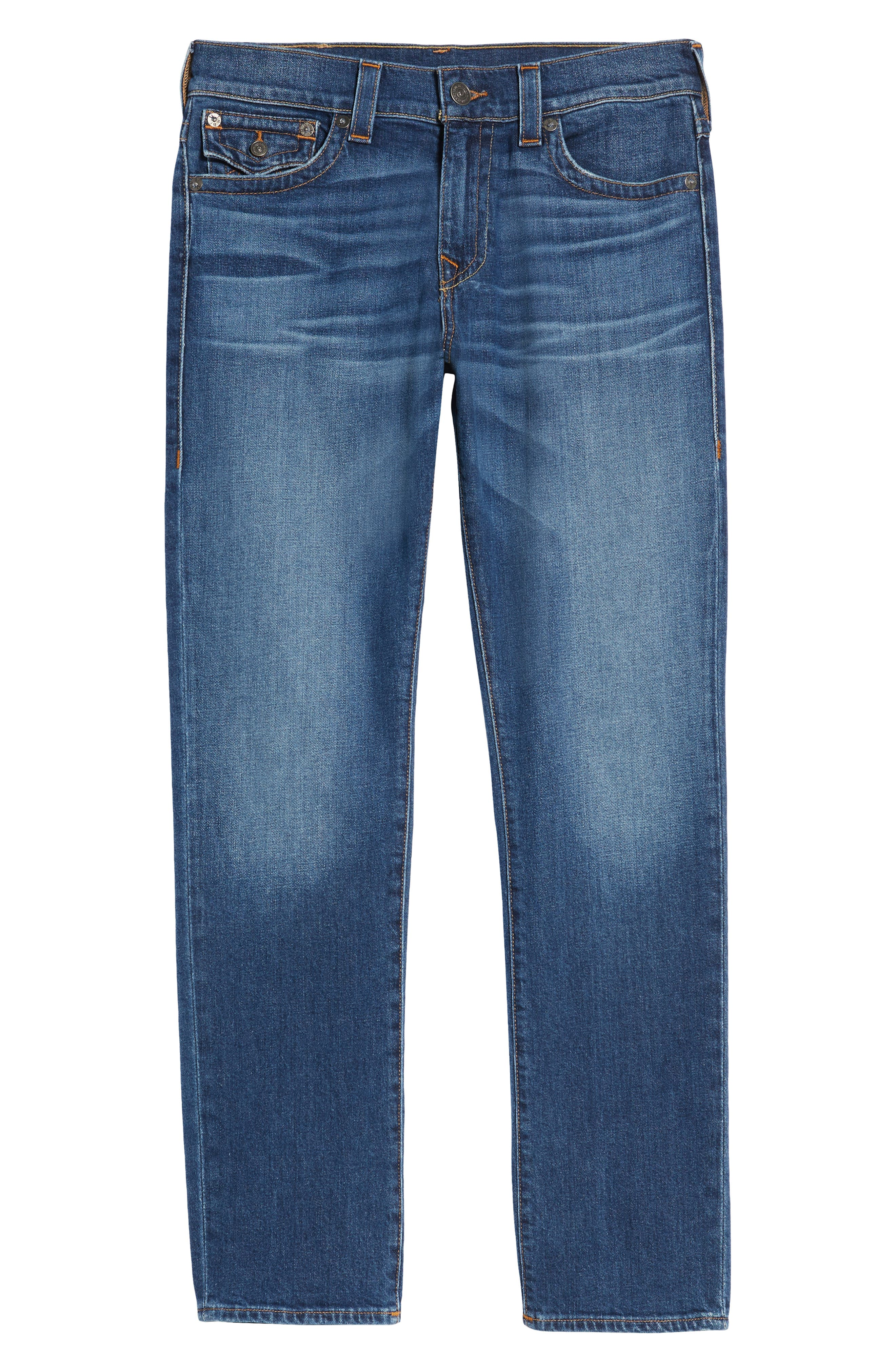 Ricky Relaxed Fit Jeans,                             Alternate thumbnail 6, color,                             Indigo Traveler