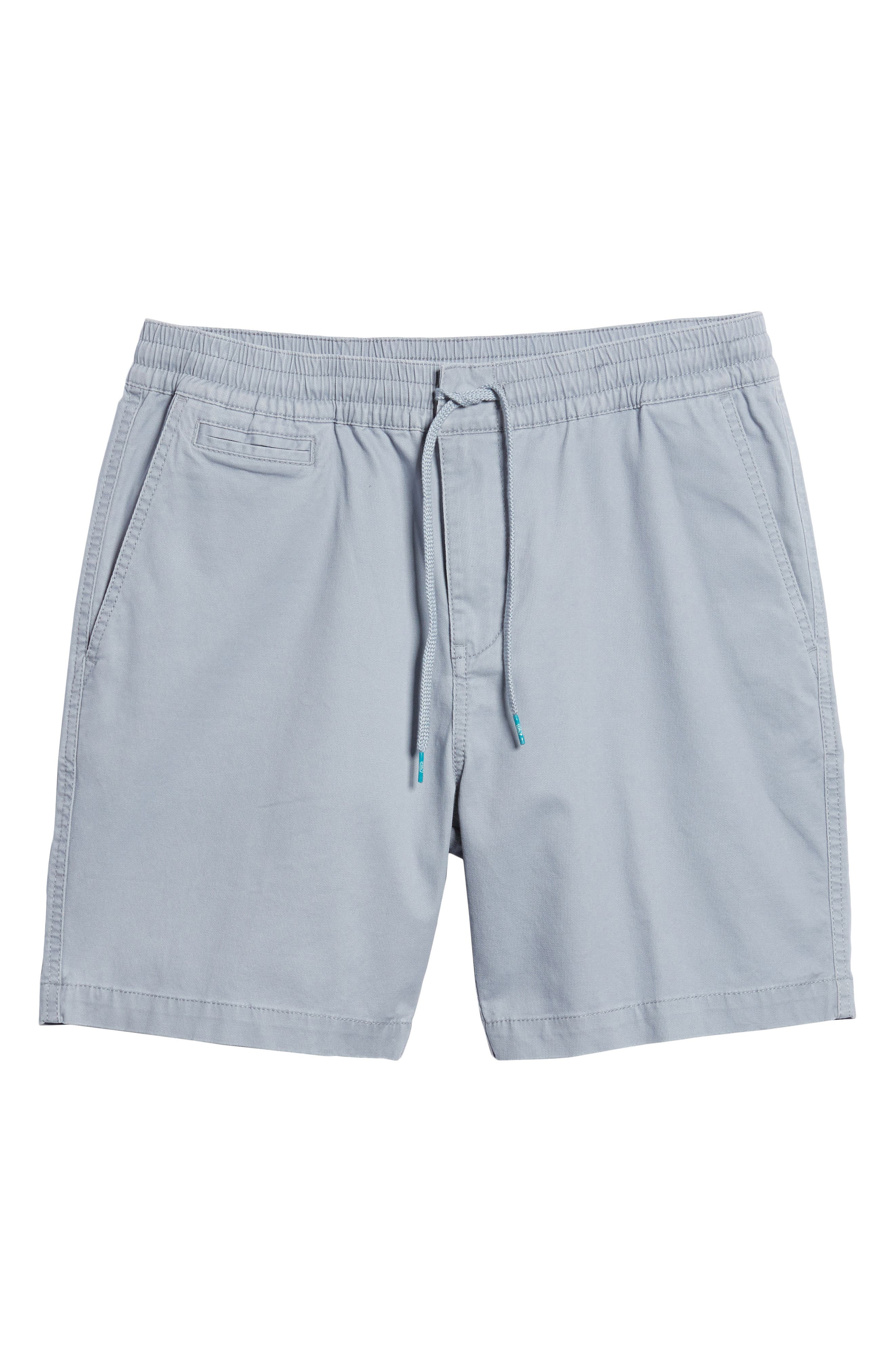 Drawstring Bedford Corduroy Shorts,                             Alternate thumbnail 6, color,                             Silver Blue