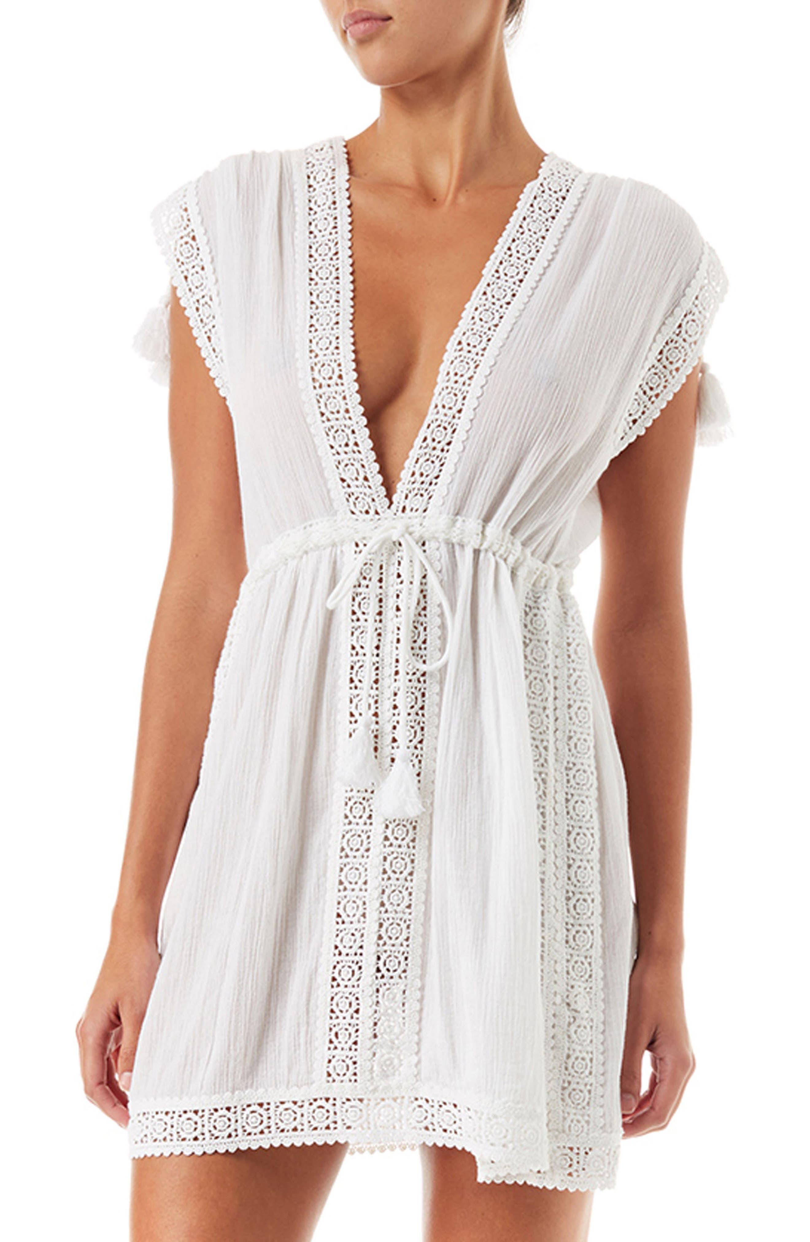 Jennifer Cover-up Dress,                             Main thumbnail 1, color,                             White