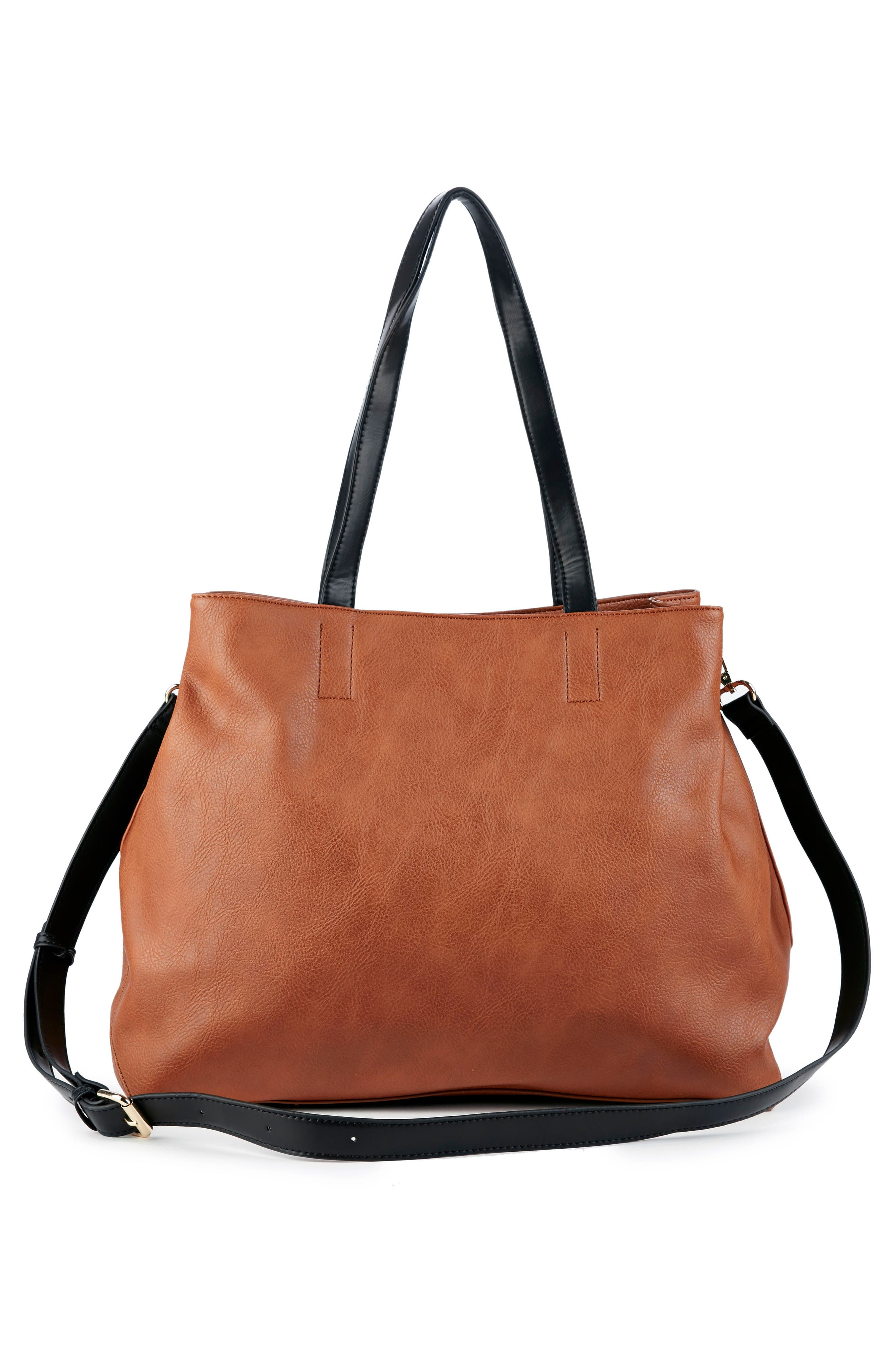 Alternate Image 3  - Sole Society Hester Faux Leather Tote