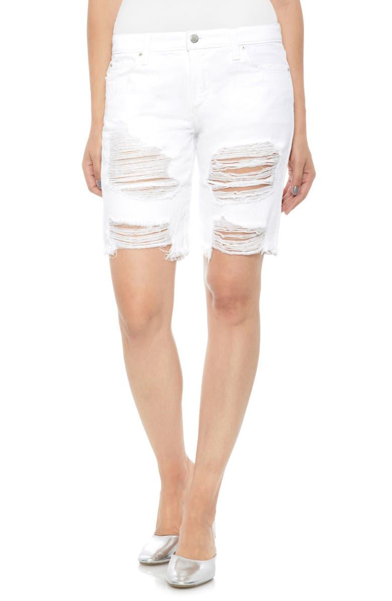 The Bermuda Denim Shorts
