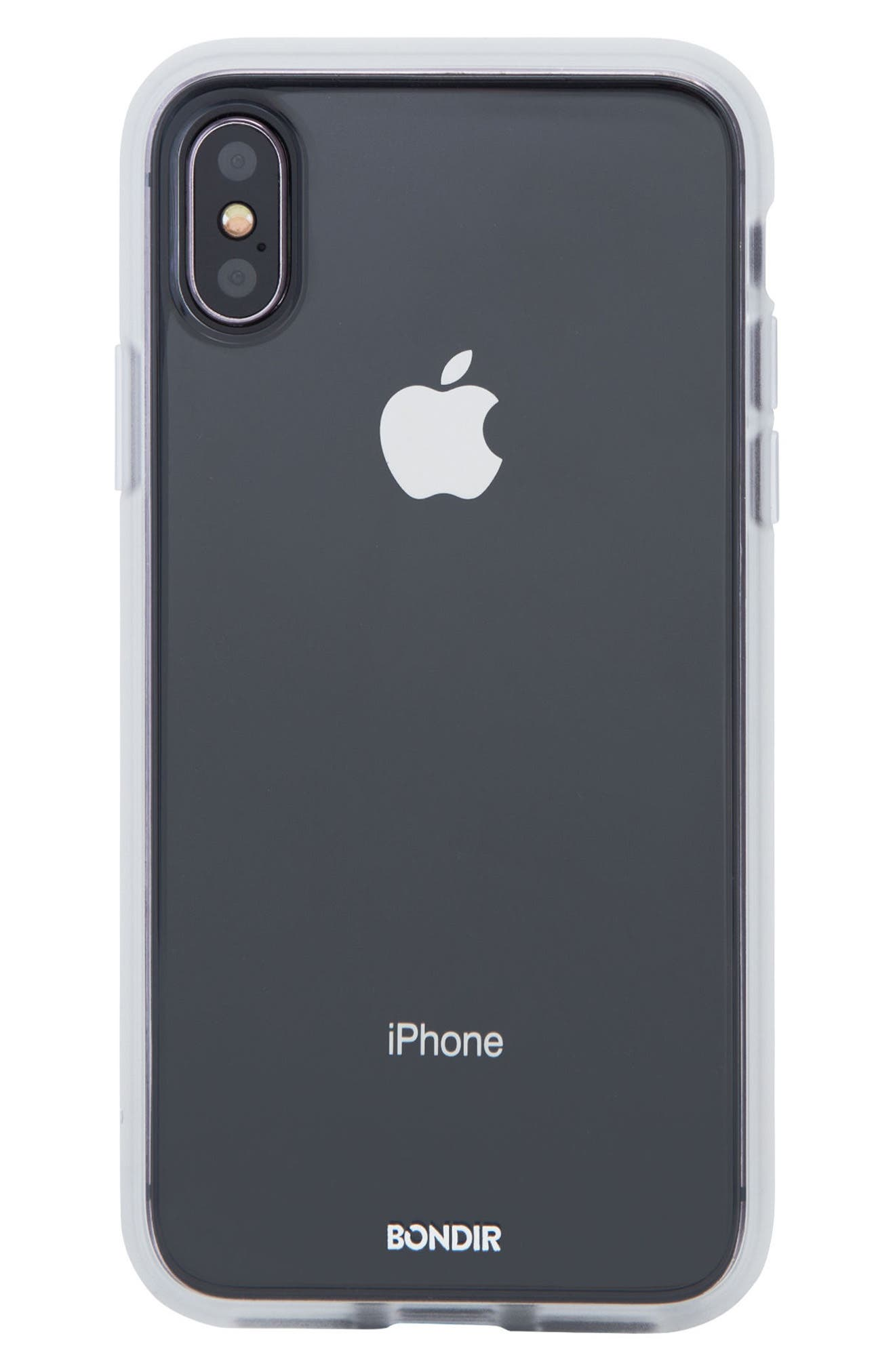 Clear iPhone X Case,                         Main,                         color, Clear