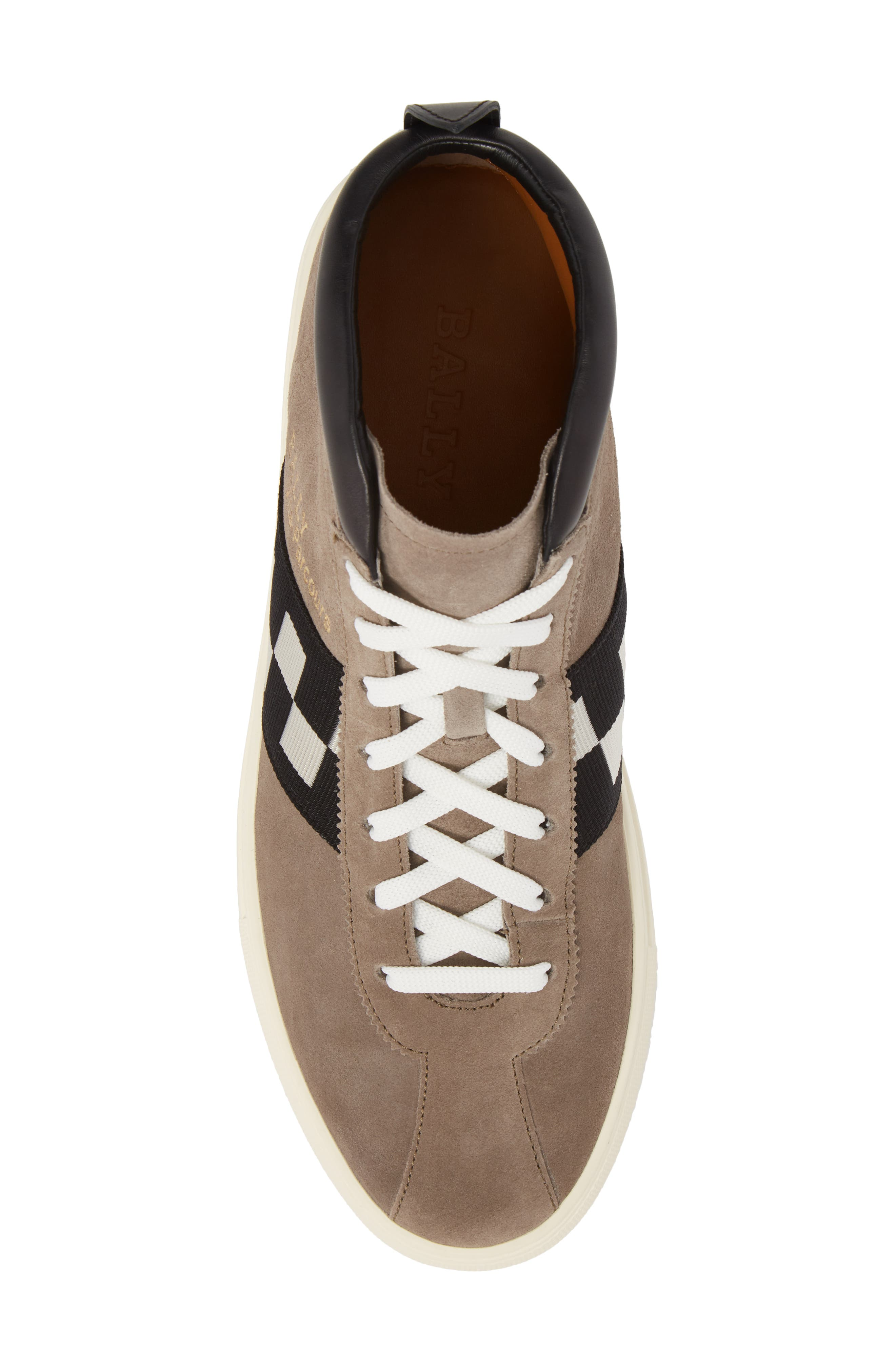Vita Checkered High Top Sneaker,                             Alternate thumbnail 5, color,                             Snuff