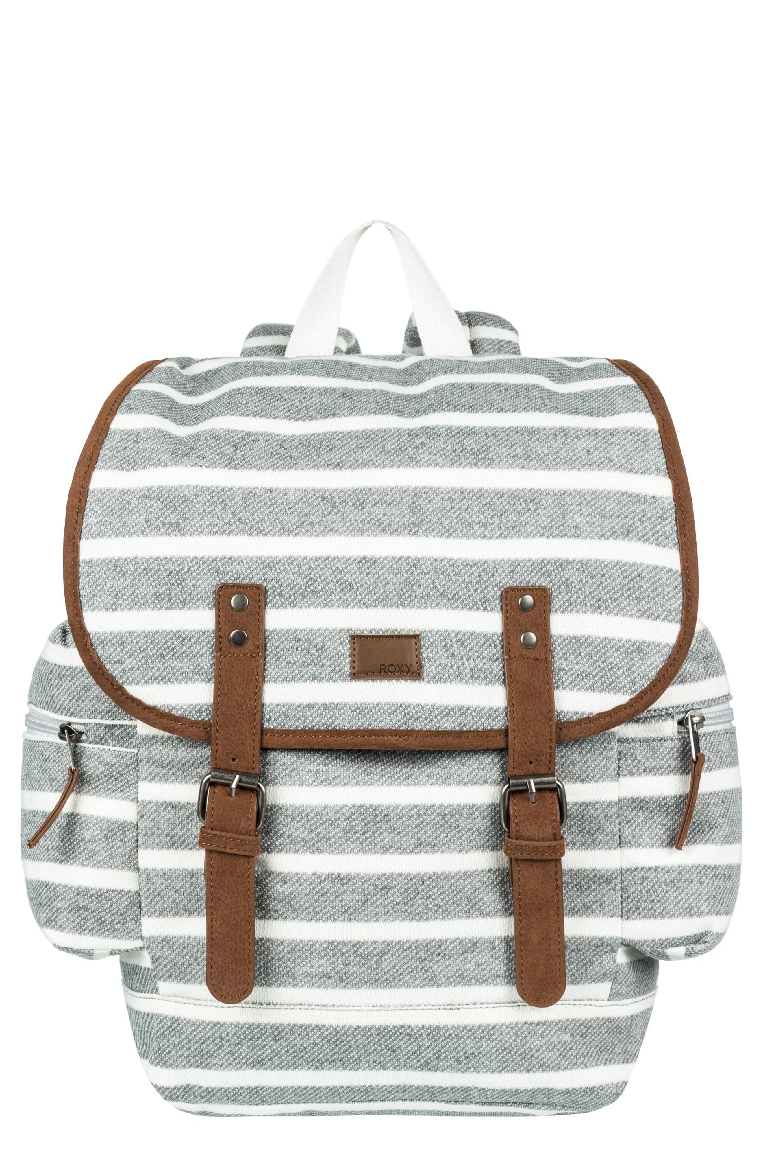 Free for Sun Fleece Backpack,                             Main thumbnail 1, color,                             Heritage Heather