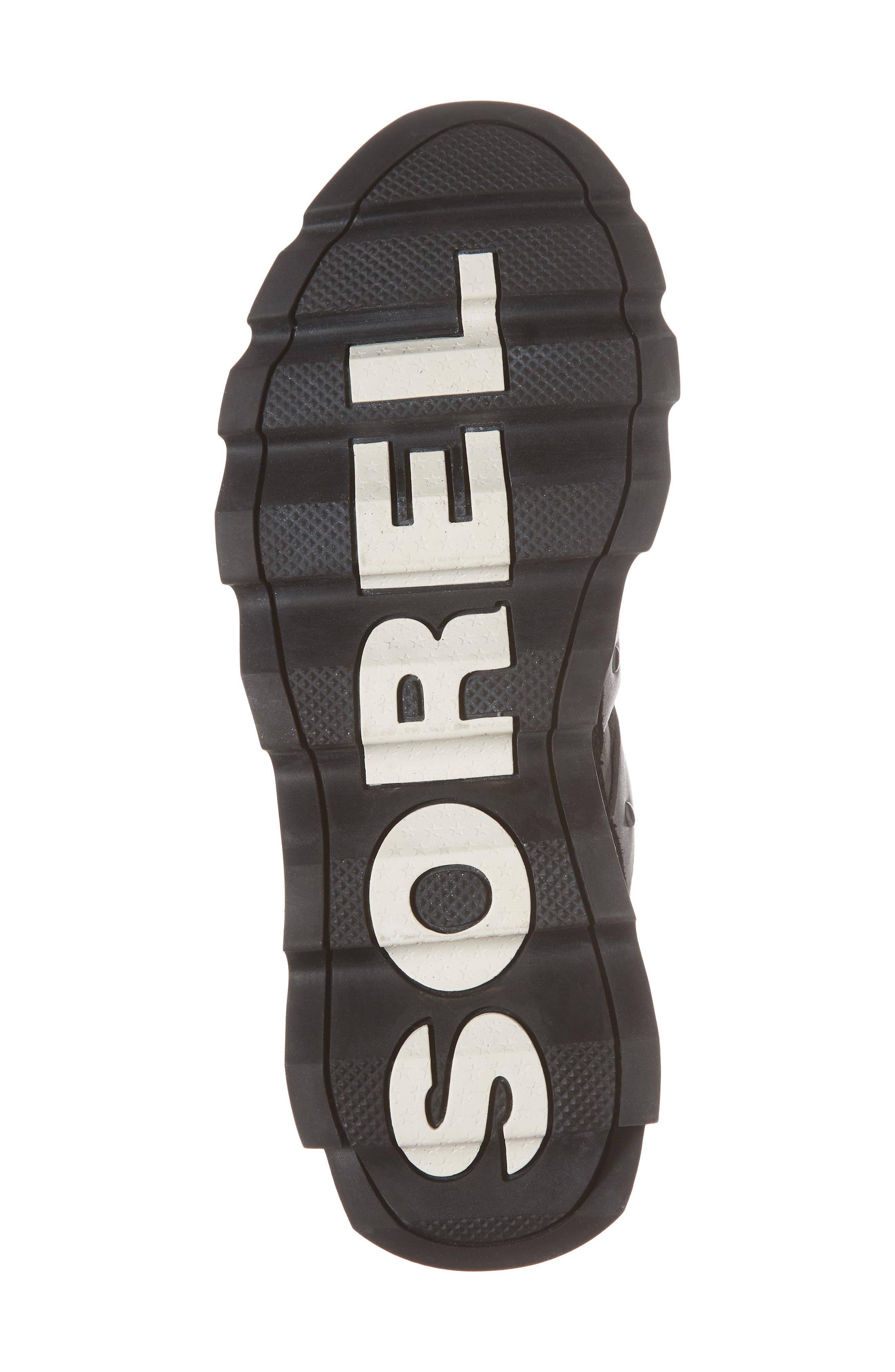 Kinetic Speed Sneaker,                             Alternate thumbnail 6, color,                             Black/ Sea Salt
