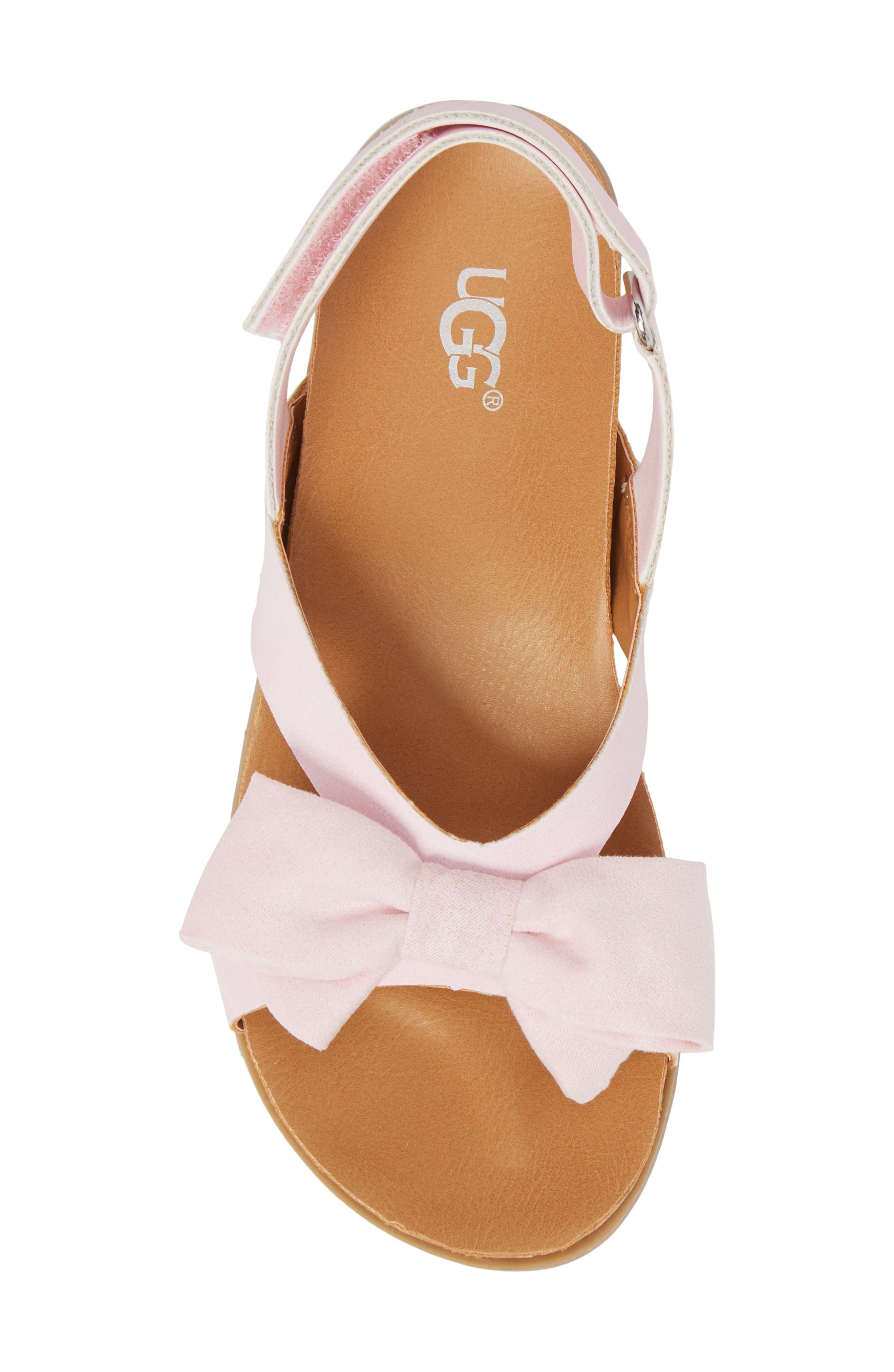 Fonda Sandal,                             Alternate thumbnail 5, color,                             Seashell Pink