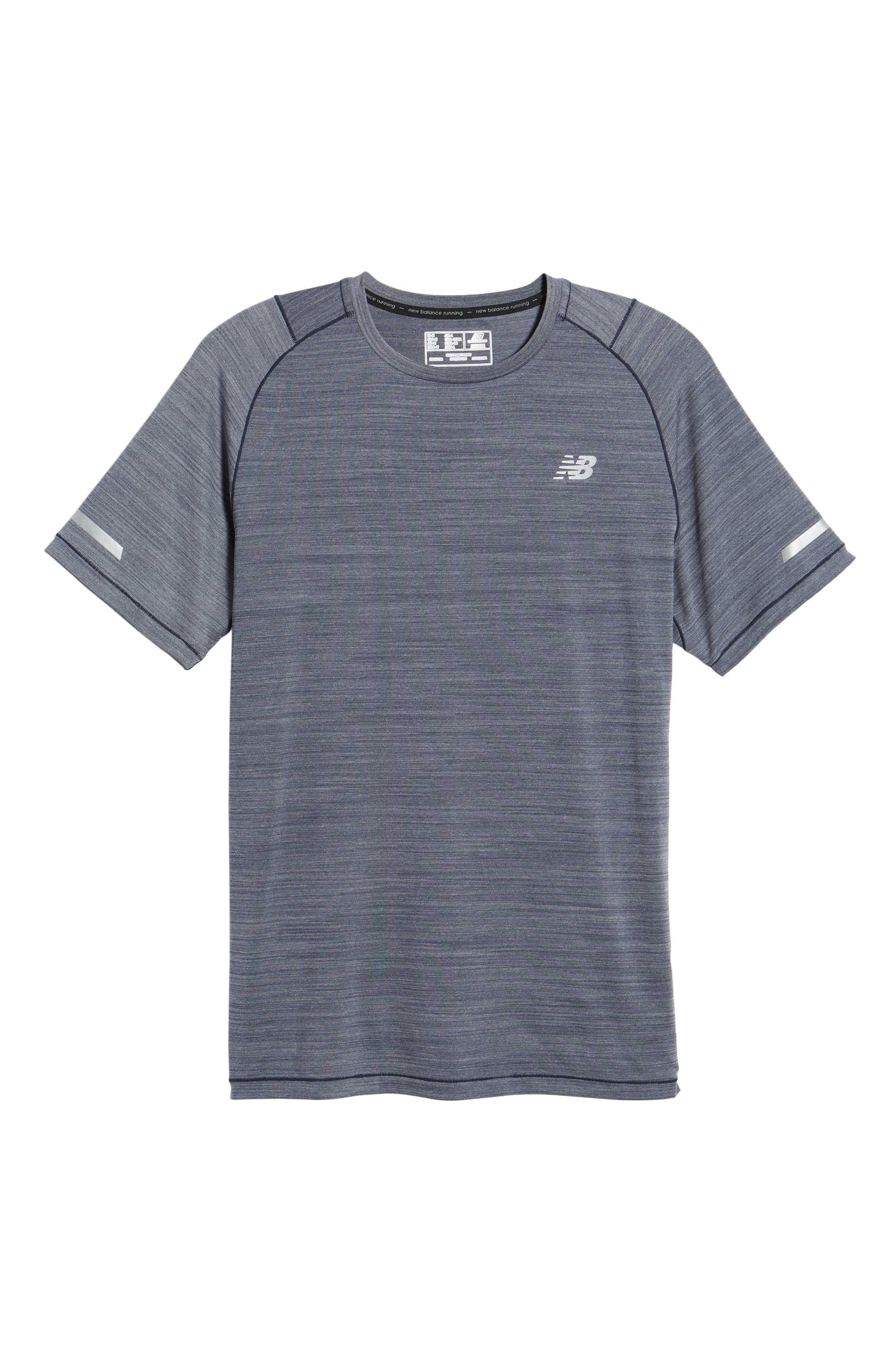 Seasonless Crewneck T-Shirt,                             Alternate thumbnail 6, color,                             Pigment Heather
