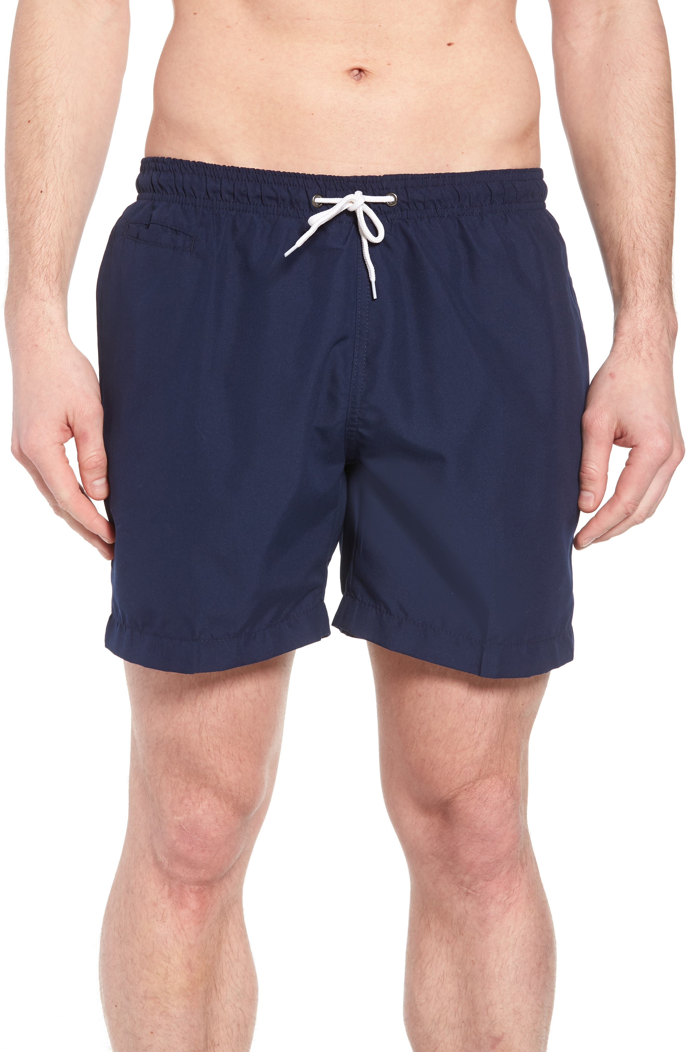 Trunks Surf & Swim 'San O' Volley Swim Shorts,                         Main,                         color, Marine