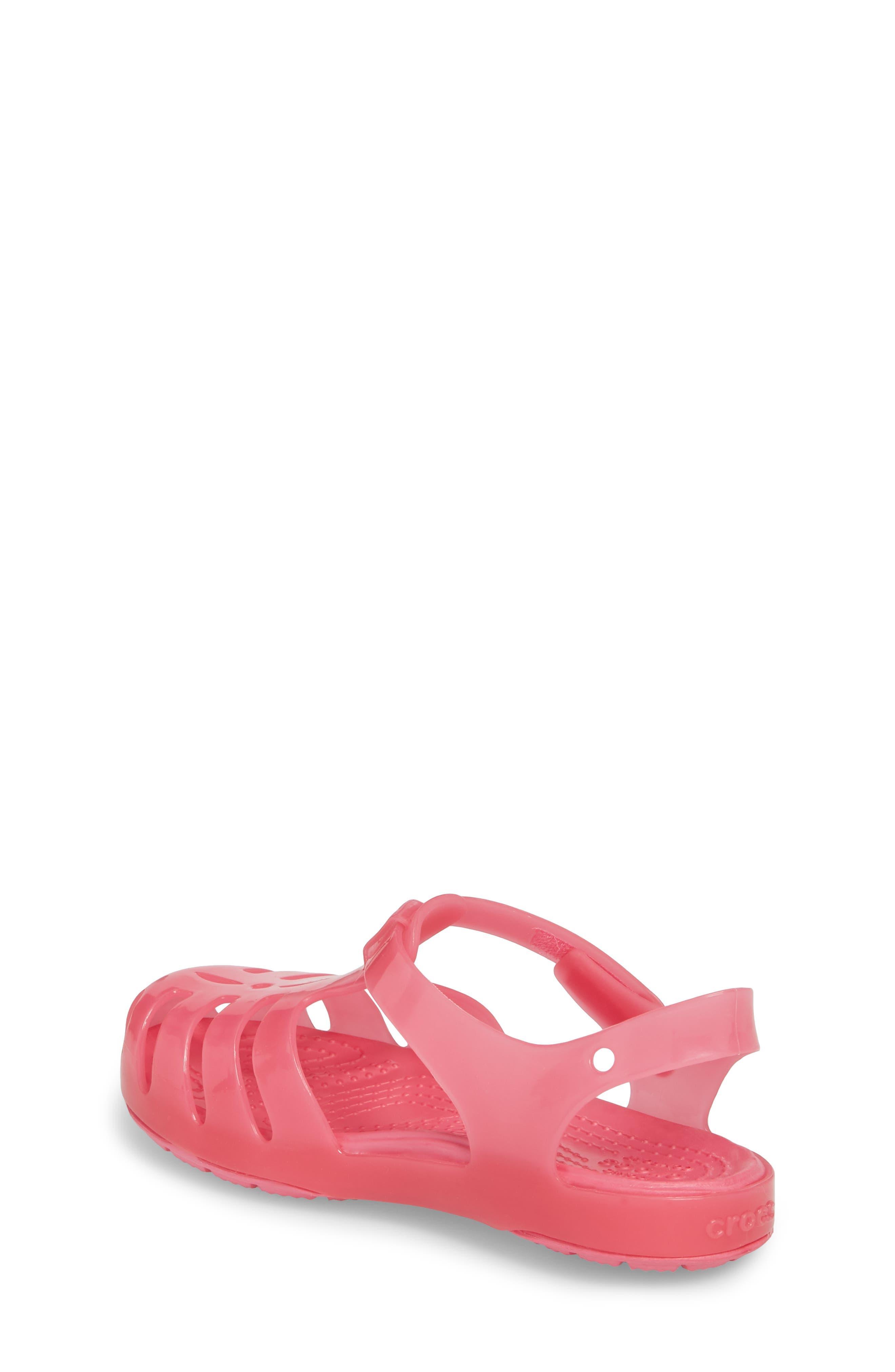 Isabella Glitter Fisherman Sandal,                             Alternate thumbnail 2, color,                             Paradise Pink