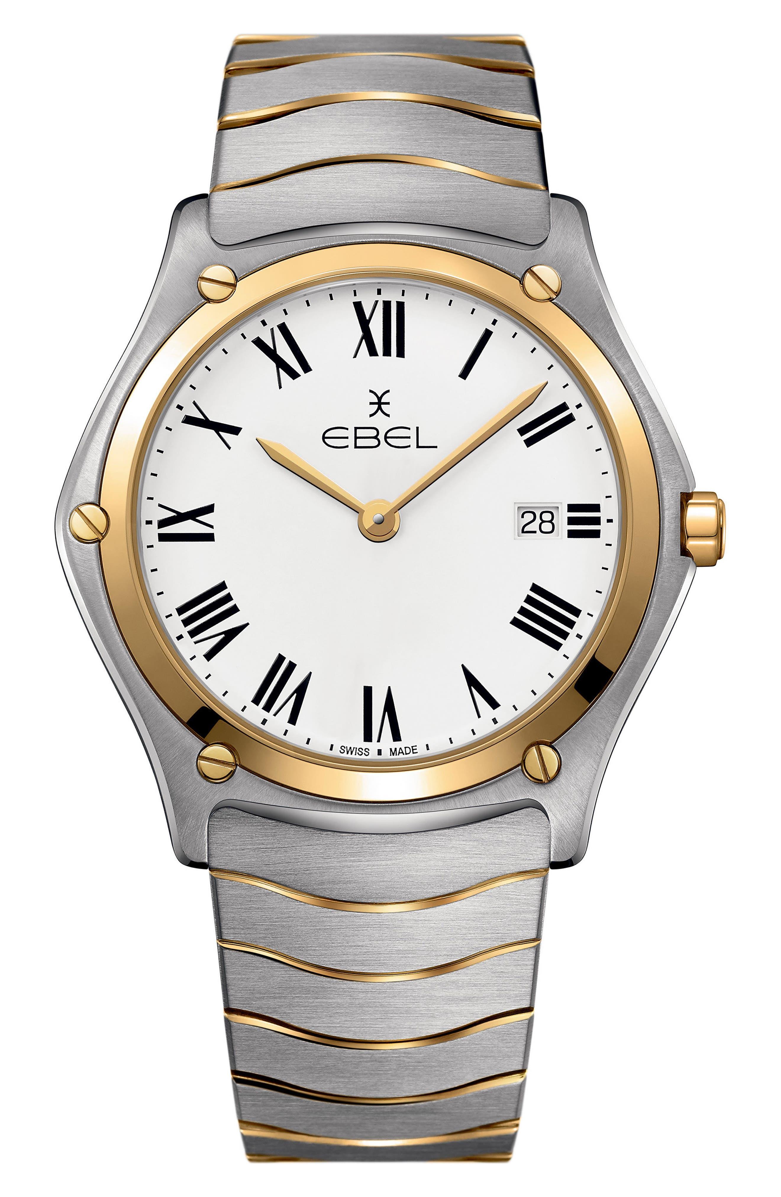 EBEL Sport Classic Bracelet Watch, 40mm