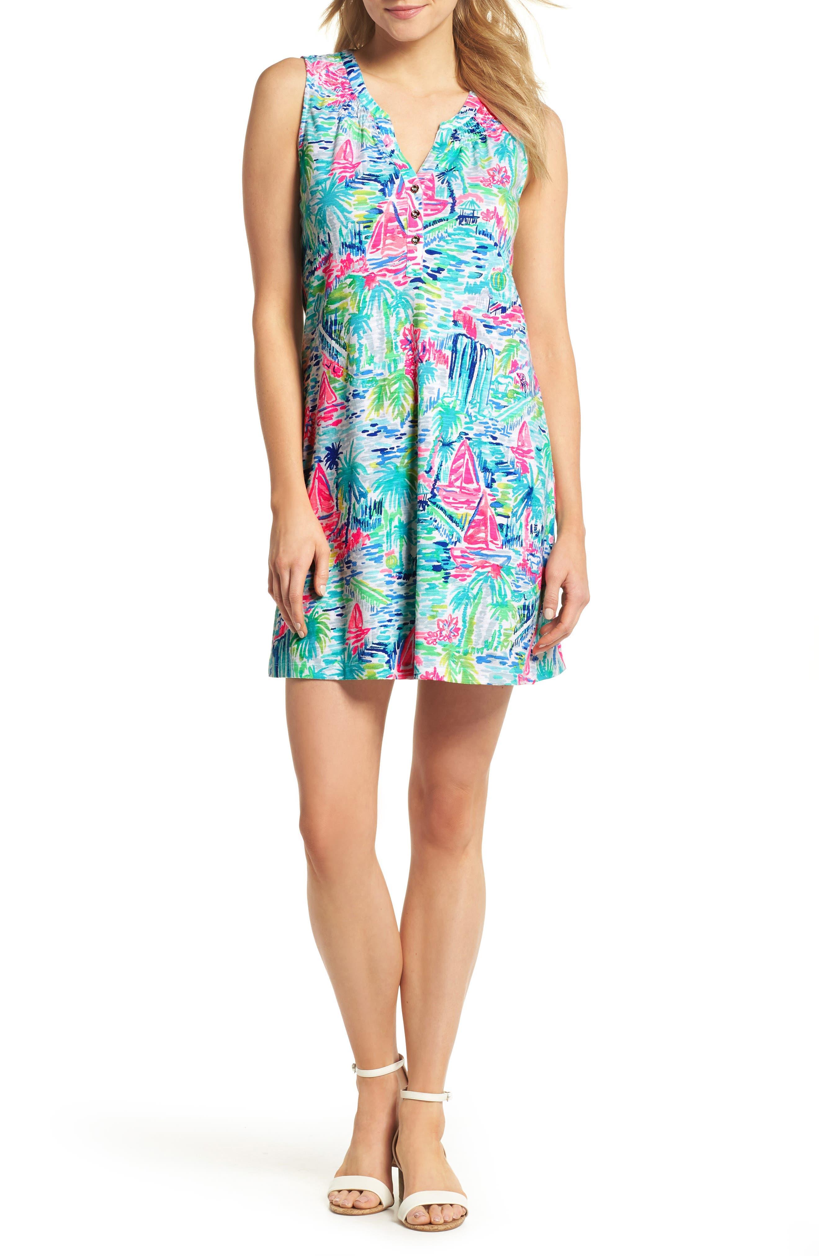 Essie Shift Dress,                         Main,                         color, Multi