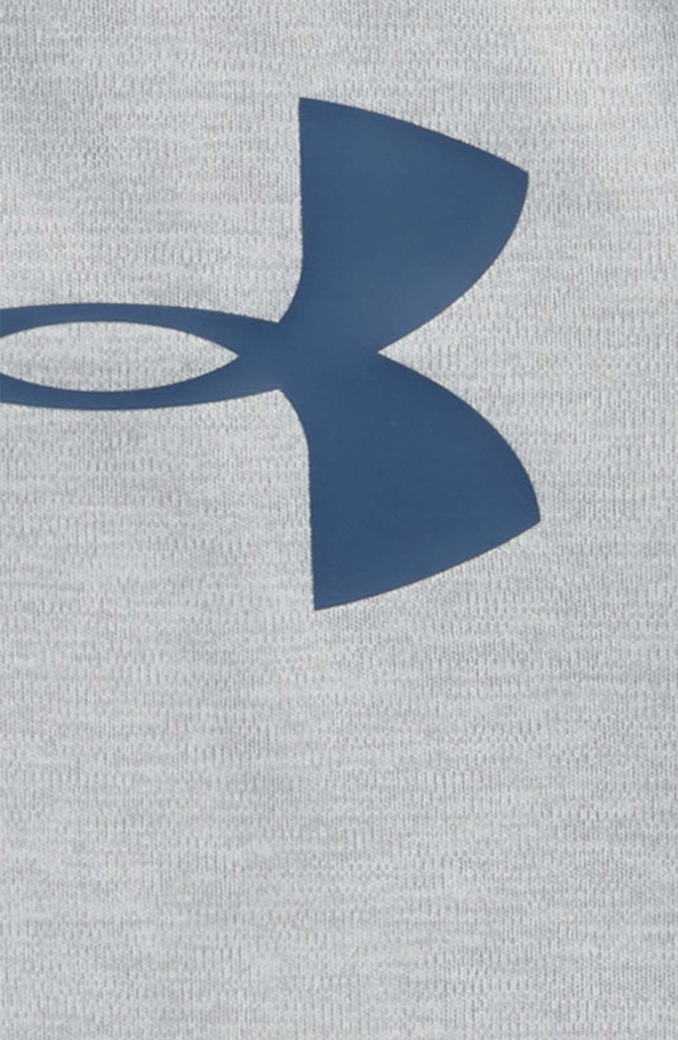 Big Logo HeatGear<sup>®</sup> Romper,                             Alternate thumbnail 2, color,                             True Grey Heather