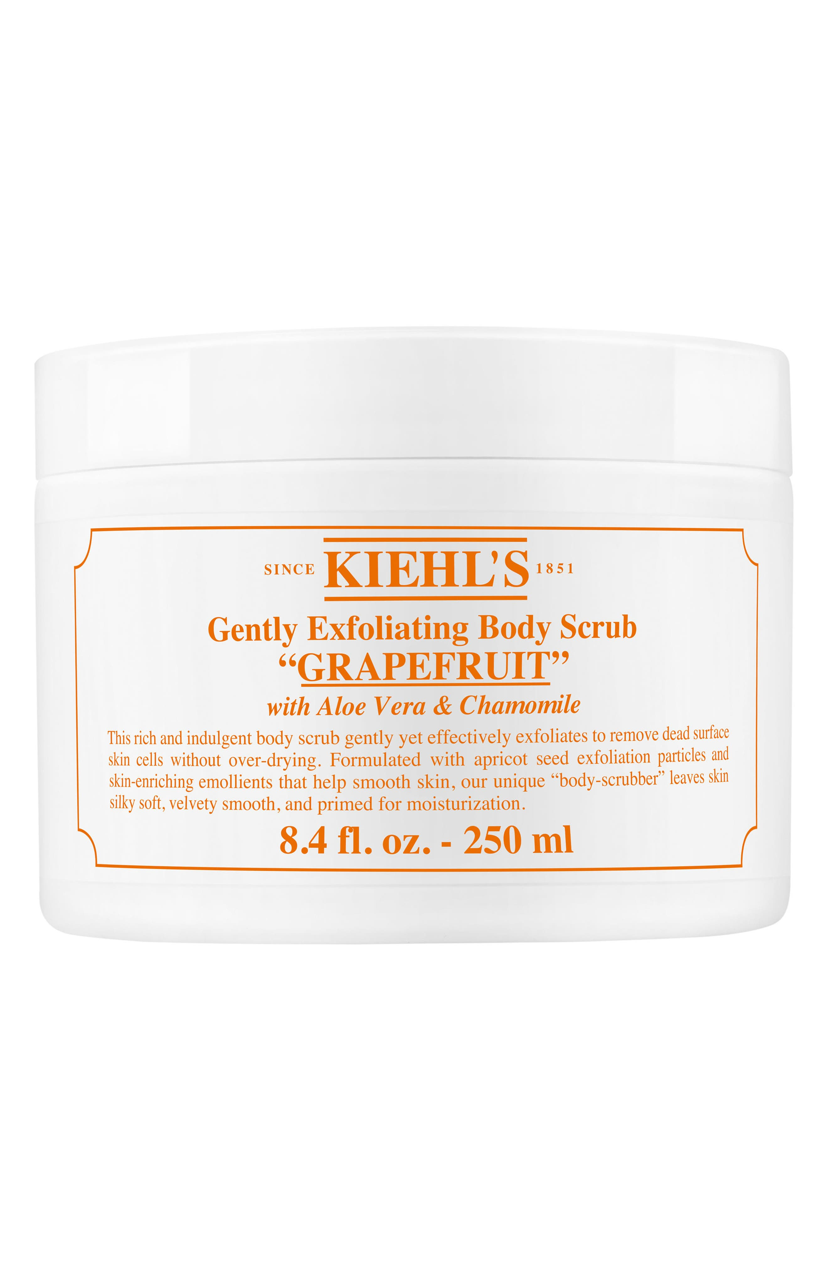 Gentle Exfoliating Body Scrub,                             Main thumbnail 1, color,                             Grapefruit