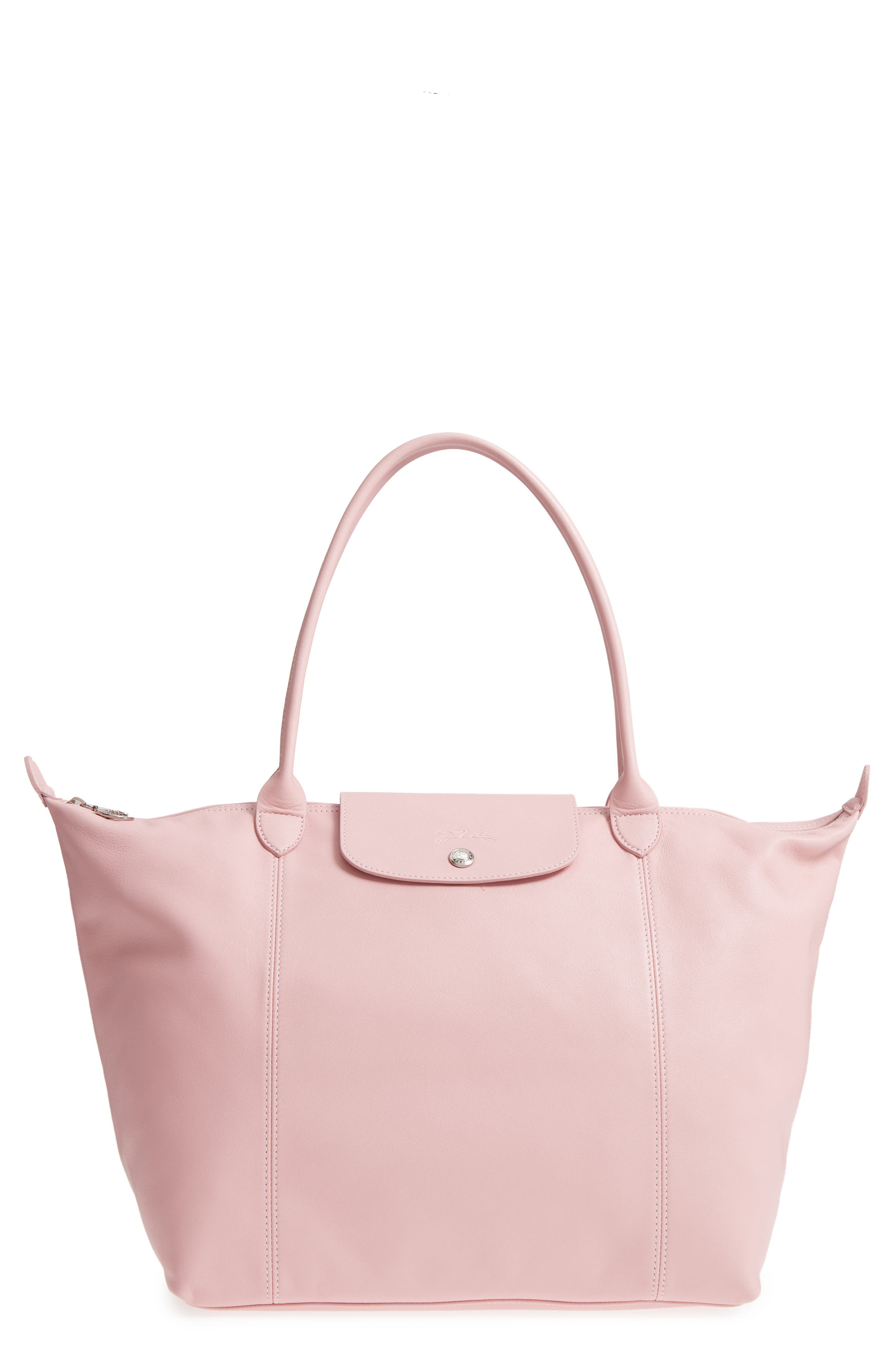 Longchamp Le Pliage Cuir Leather Tote (Nordstrom Exclusive). $530.00.  (103). Product Image. LIGHT PINK