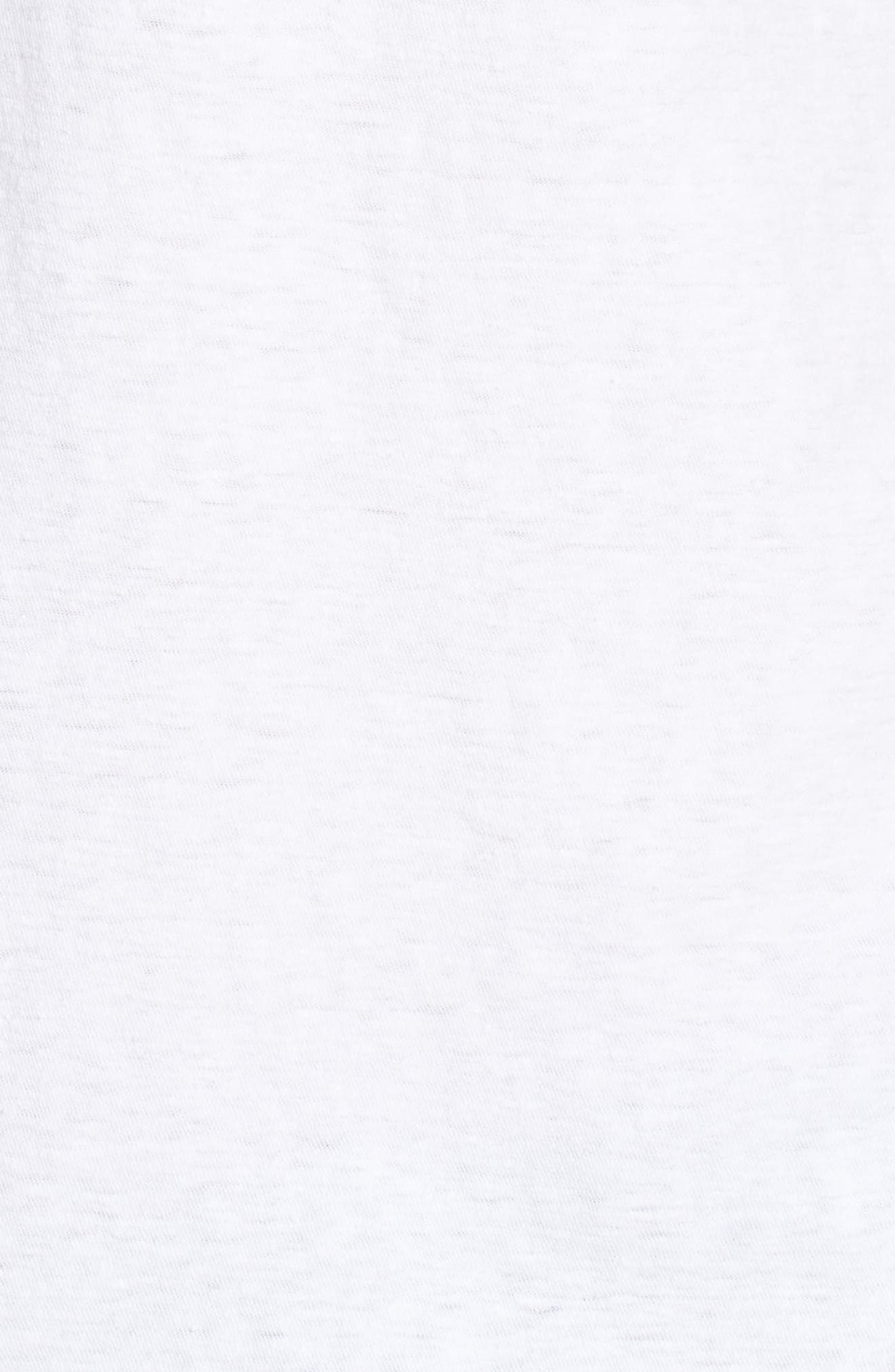 Regular Fit Slub Polo,                             Alternate thumbnail 5, color,                             White