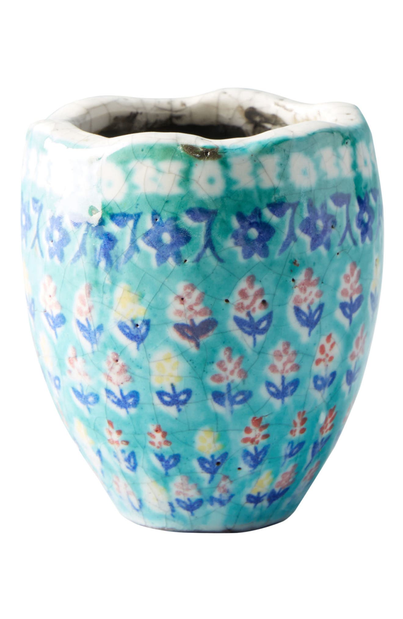 Bismark Mini Garden Pot,                             Alternate thumbnail 4, color,                             Green