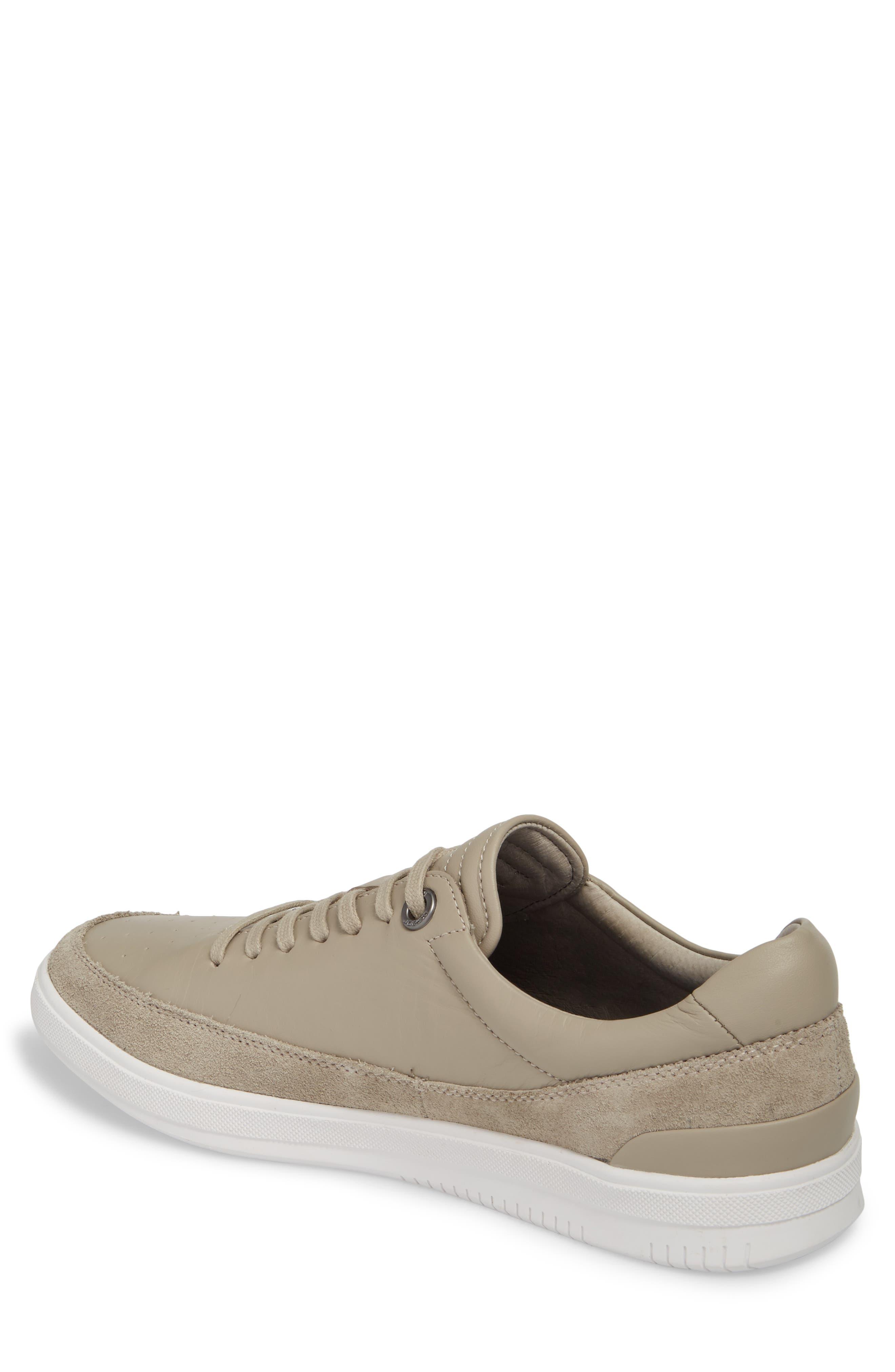 Joe Classic Low Top Sneaker,                             Alternate thumbnail 2, color,                             Stone Leather