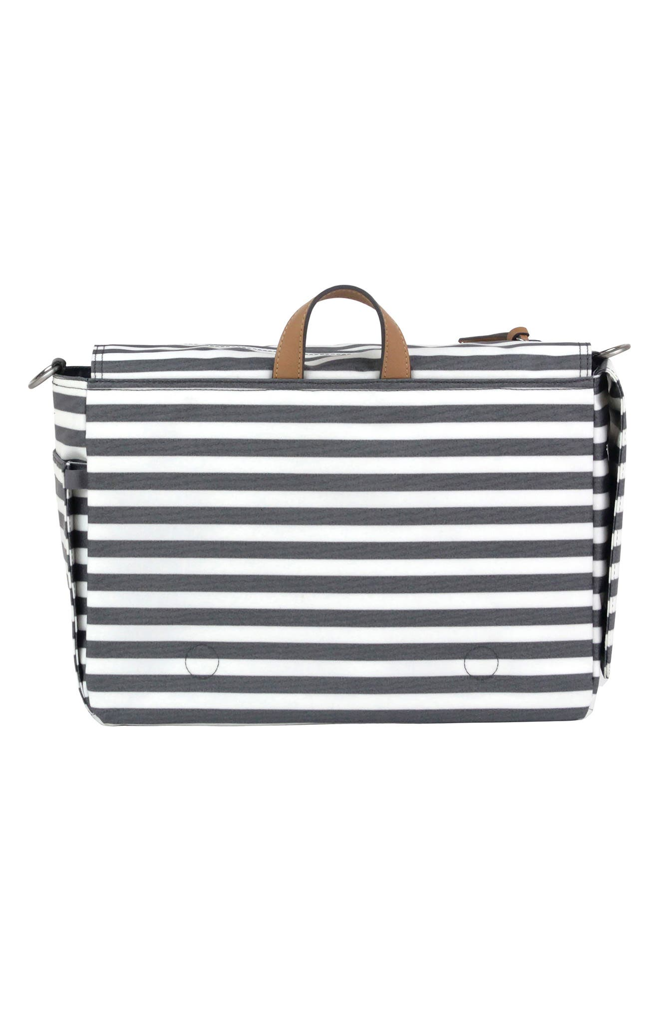 On-the-Go Water Resistant Stroller Caddy,                             Alternate thumbnail 4, color,                             Stripe