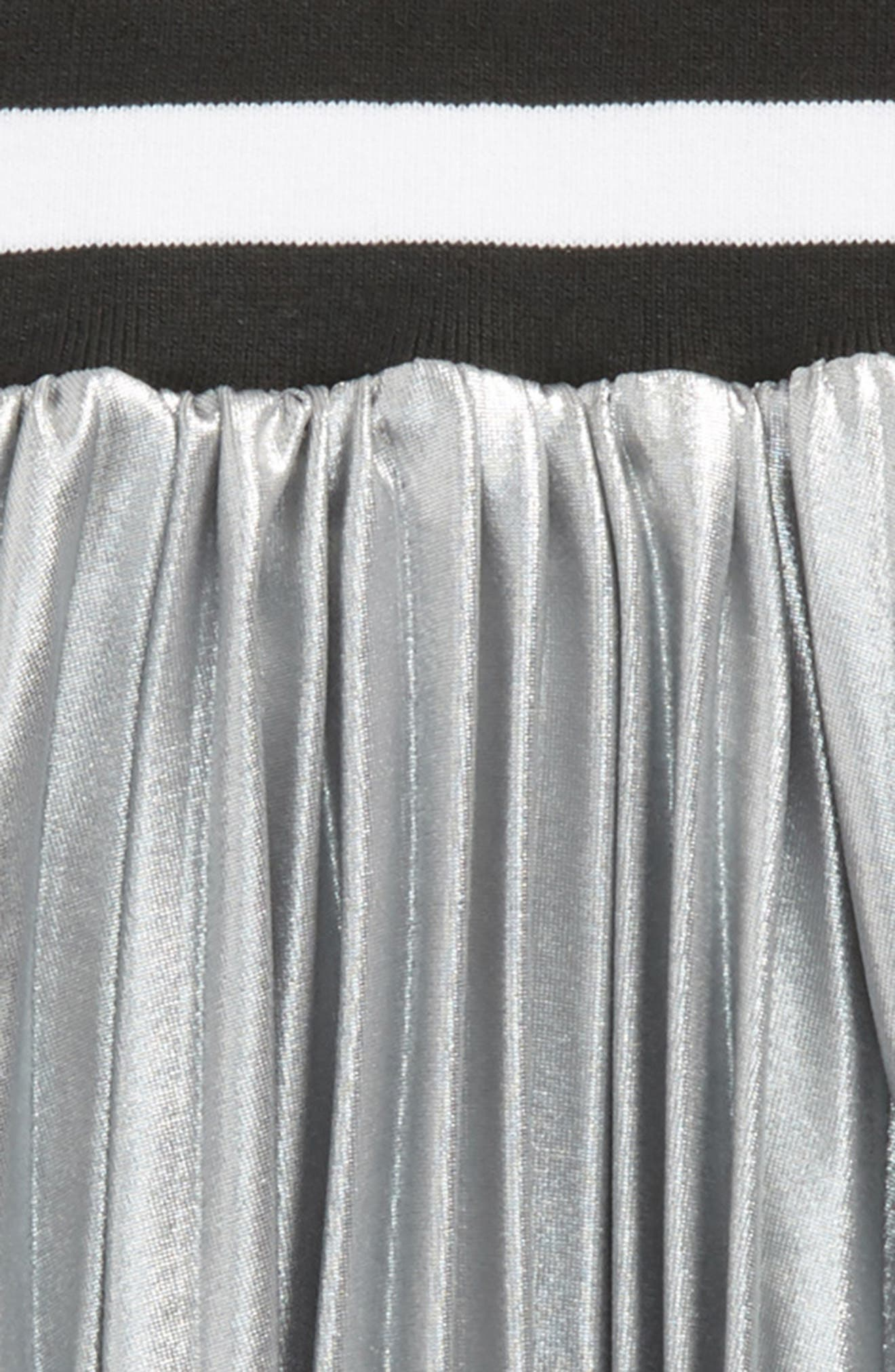 Aly Skirt,                             Alternate thumbnail 2, color,                             Silver