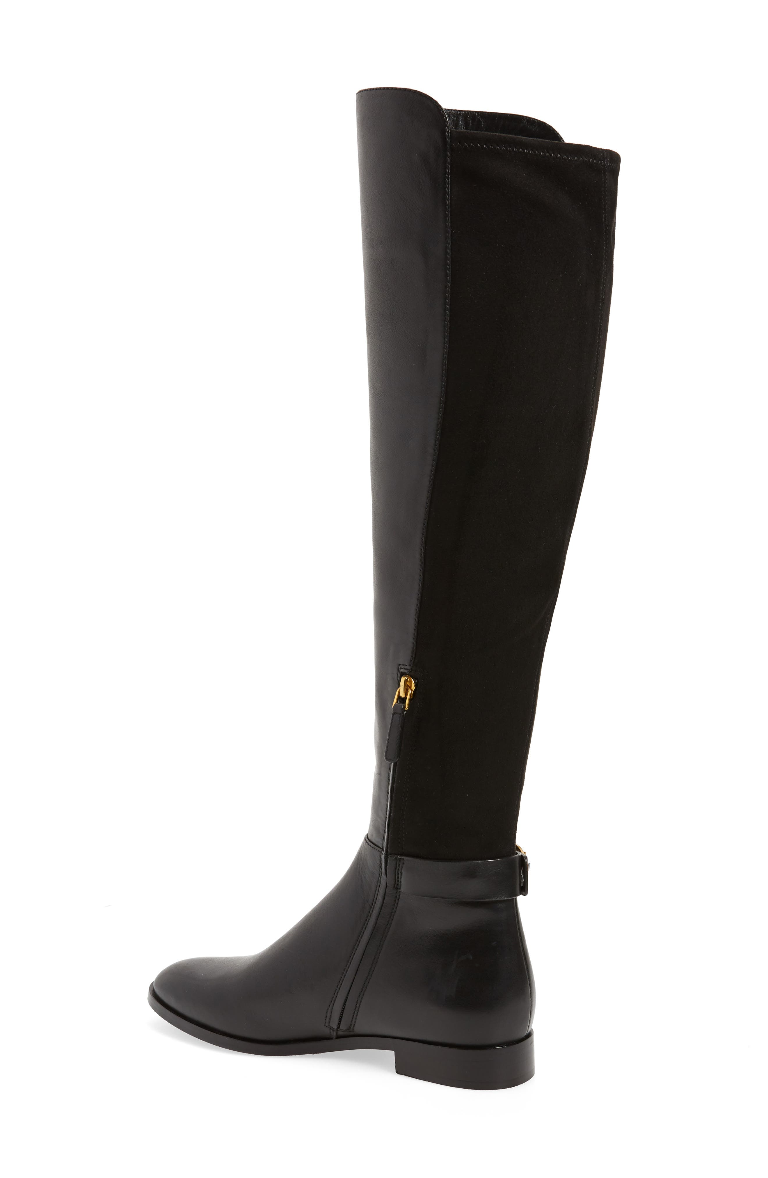 Marsden Over the Knee Boot,                             Alternate thumbnail 2, color,                             Perfect Black