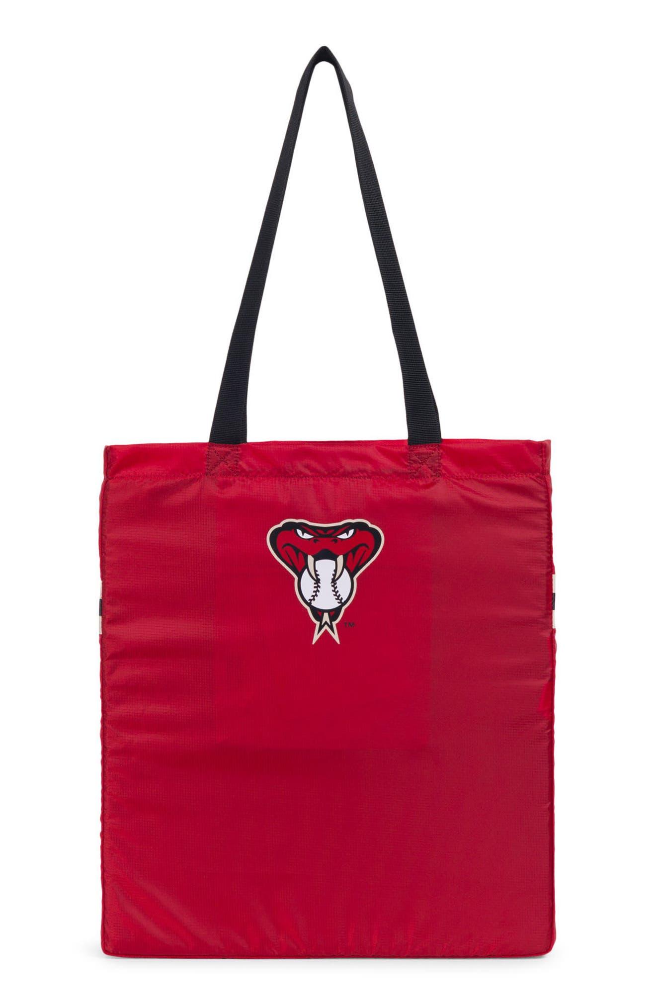 Packable - MLB National League Tote Bag,                             Alternate thumbnail 3, color,                             Arizona Diamondbacks